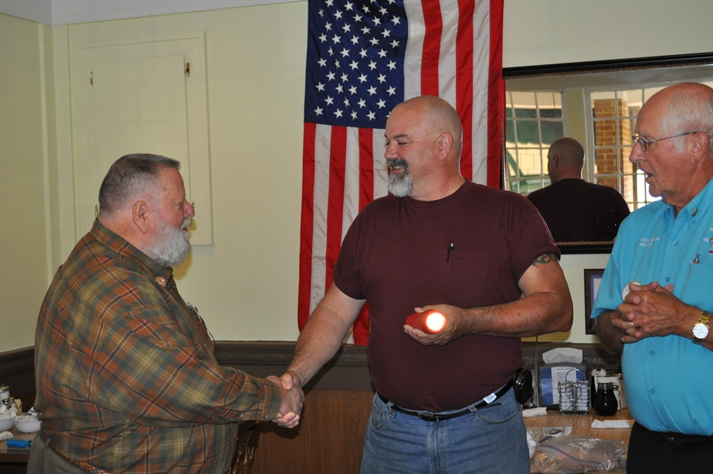 Melvin Jones (Frank McNeill) & Dave Whitney Induction 016.jpg