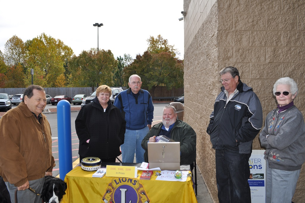 2014-1108 Raffle Drawing - Fran, Keith, Jim, Bob, Nancy, Chuck.JPG