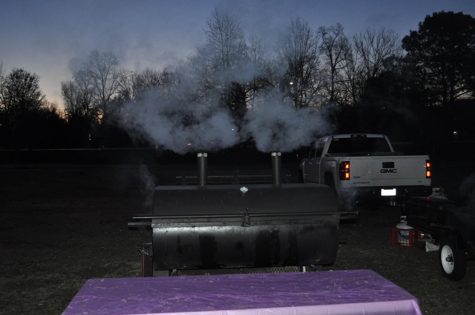 2017-0316 BBQ - Smoking Grill.JPG