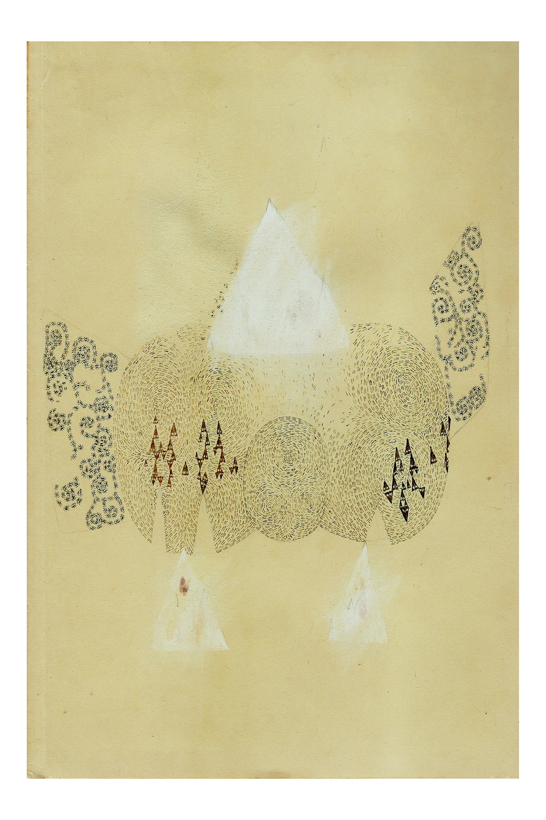 Tago  2004 Pencil, ink, and gouache on paper