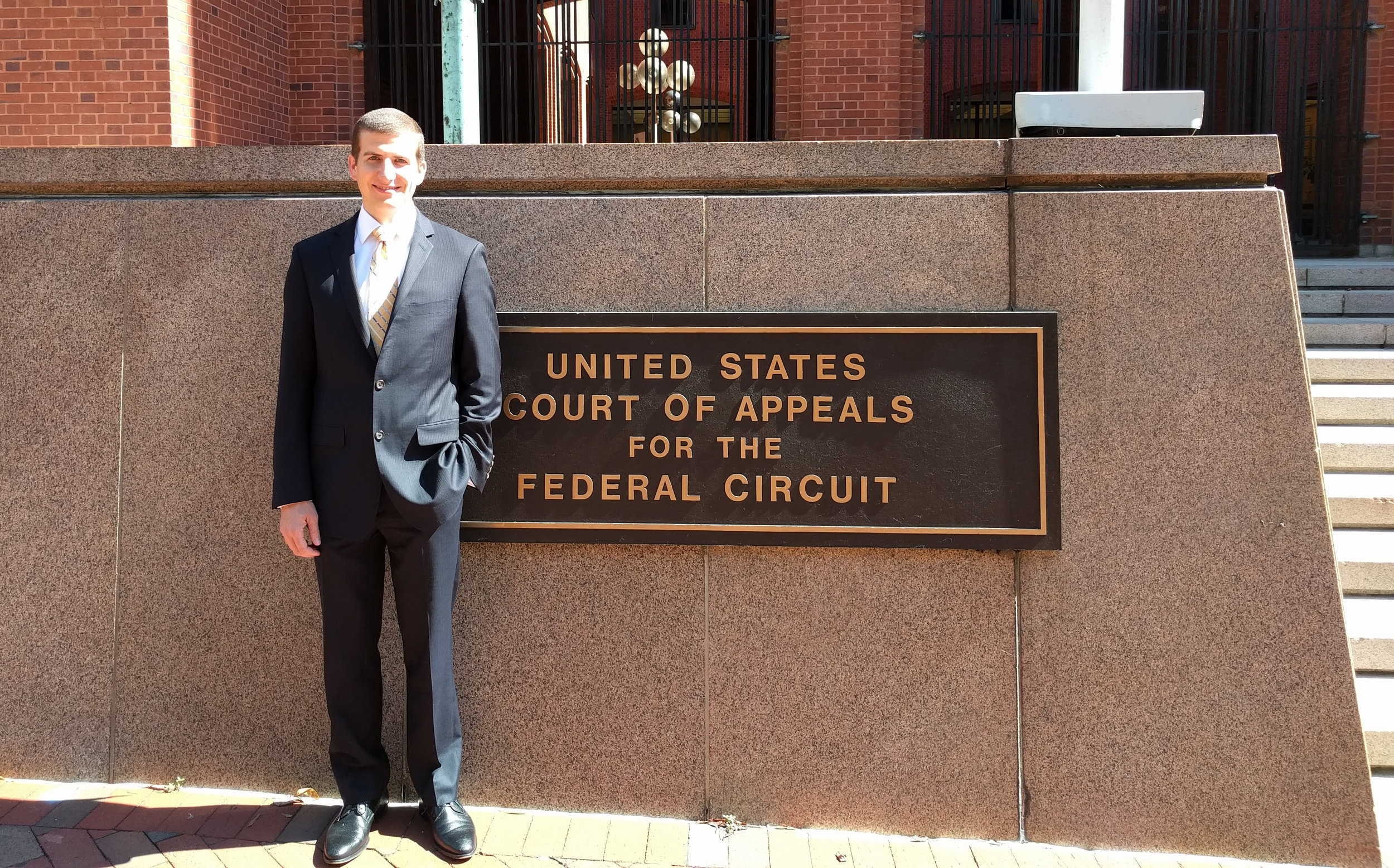 Mr. Kennedy presented oral argument in the Federal Circuit's first ROTC scholarship case.