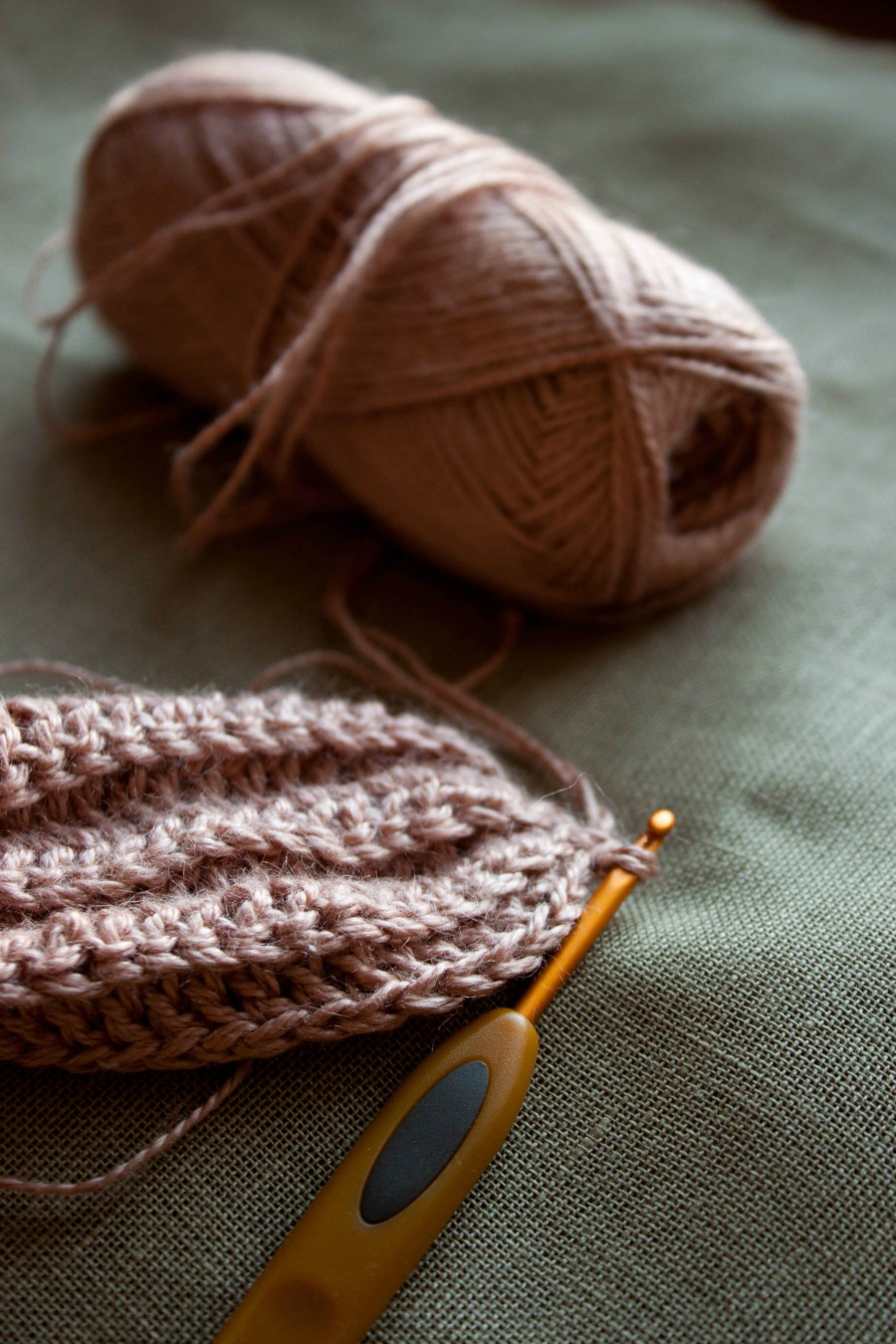 crocheting :: my blue&white kitchen
