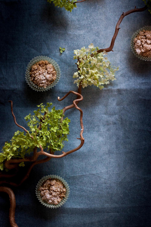 Warm Spiced Brown Butter Zucchini Muffins | My Blue&White Kitchen