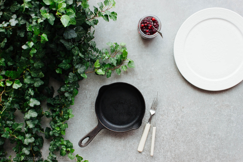 Stinging Nettle Pancakes | My Blue&White Kitchen