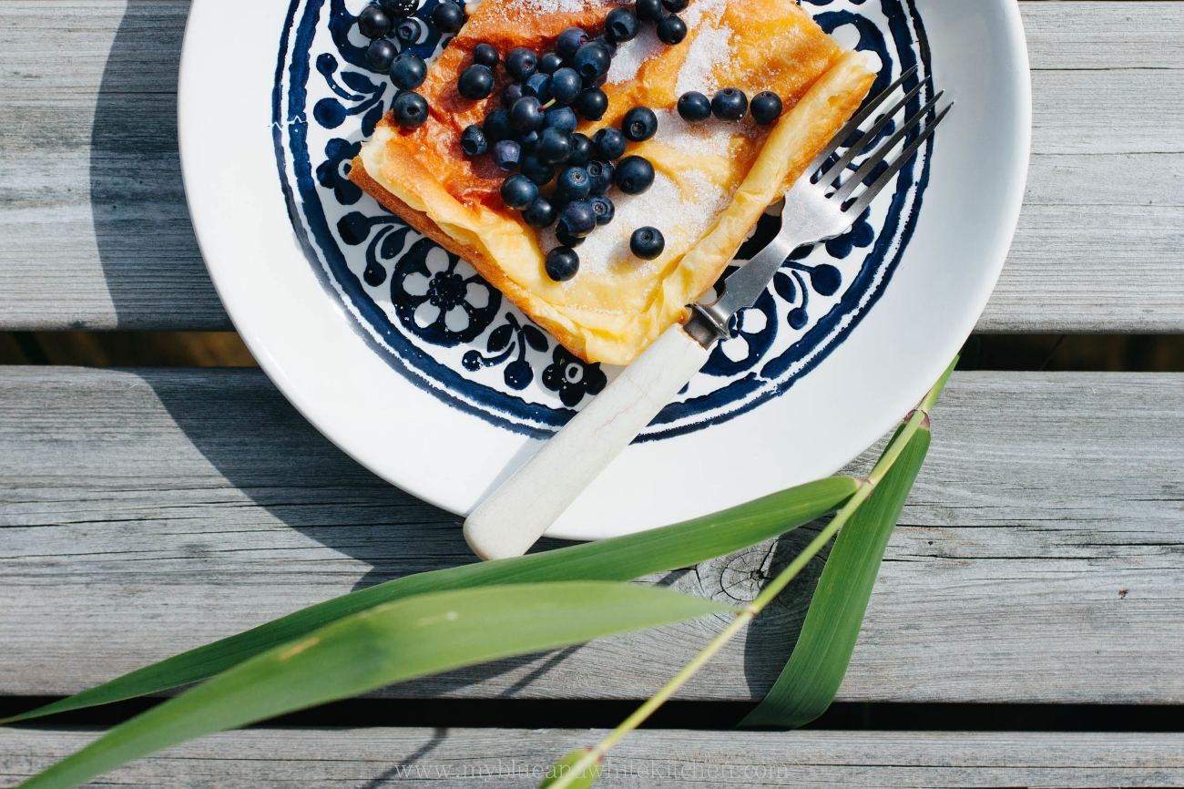 Nordic Oven Pancake | My Blue&White Kitchen