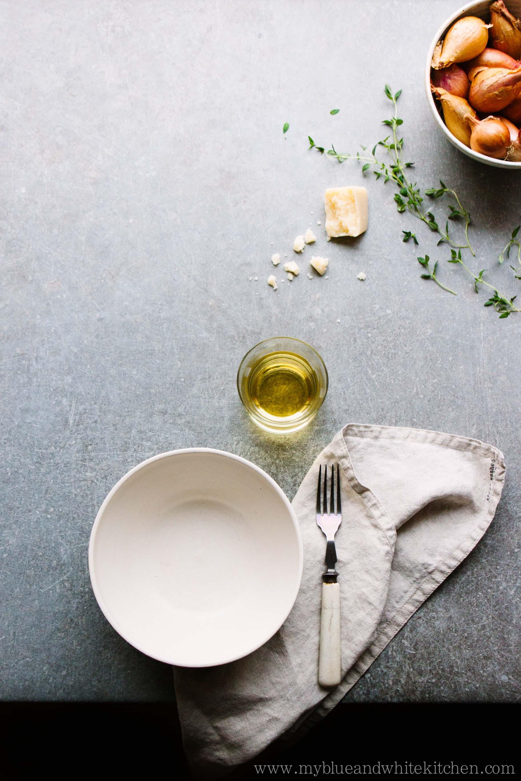 Roasted Pumpkin Risotto with Crispy Prosciutto | My Blue&White Kitchen