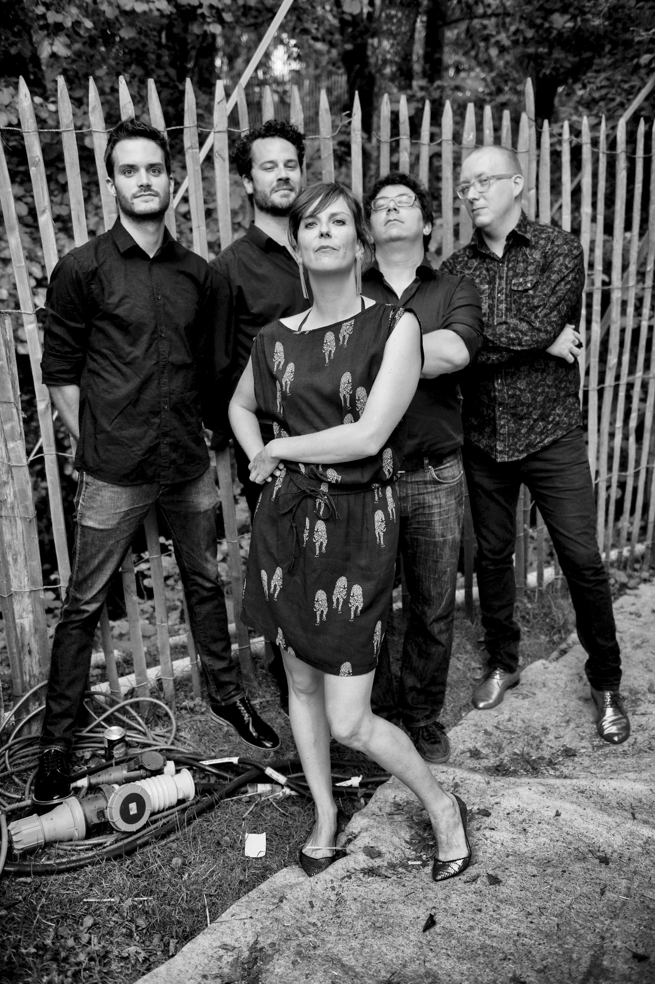 © Anne Colliard, Paléo 2013  Avec: Grégoire Pasquier, Mathieu Kyriakidis, Fabrice Seydoux et Sacha Ruffieux