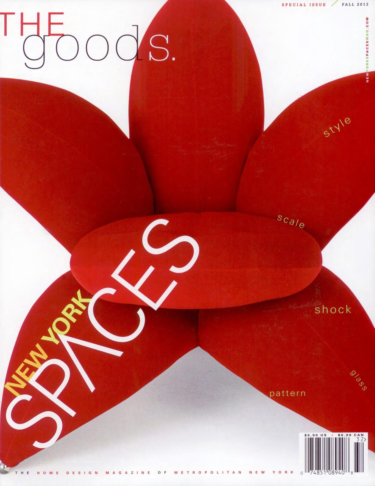 NY SPACES MAGAZINE - NOV 2013