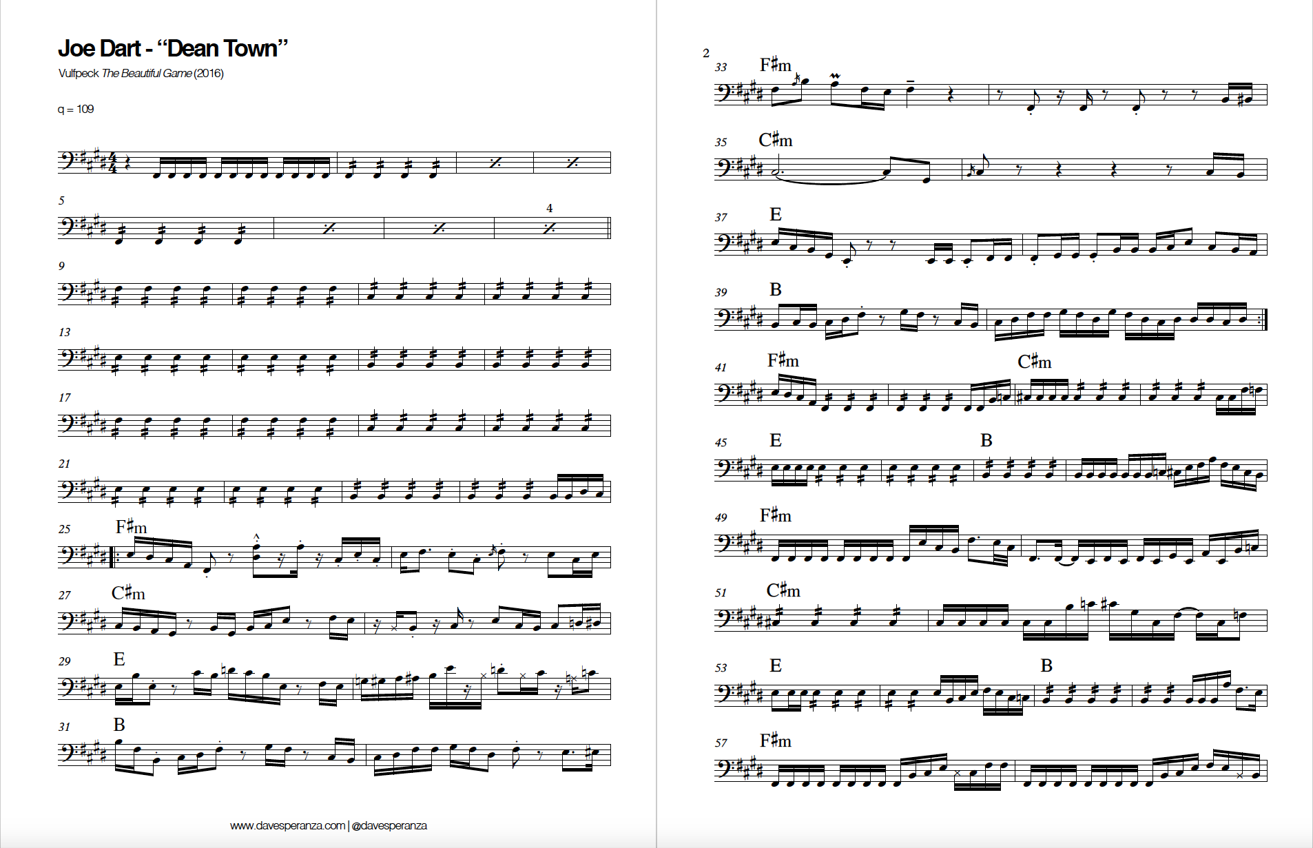Vulfpeck.Dean Town.Joe Dart.Bass Transcription.png