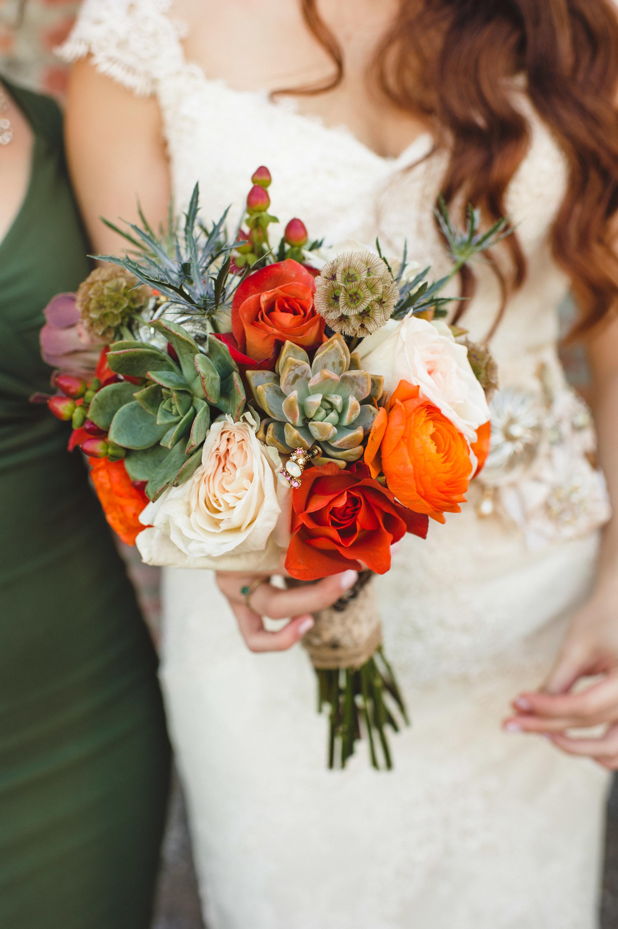Autumn Bride's Bouquet