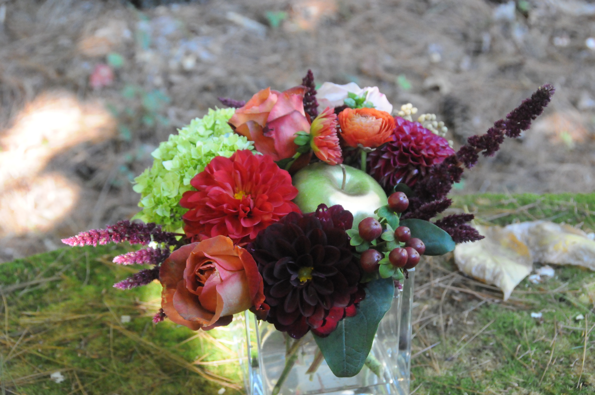 Fall Nashville Wedding Flower Arrangement