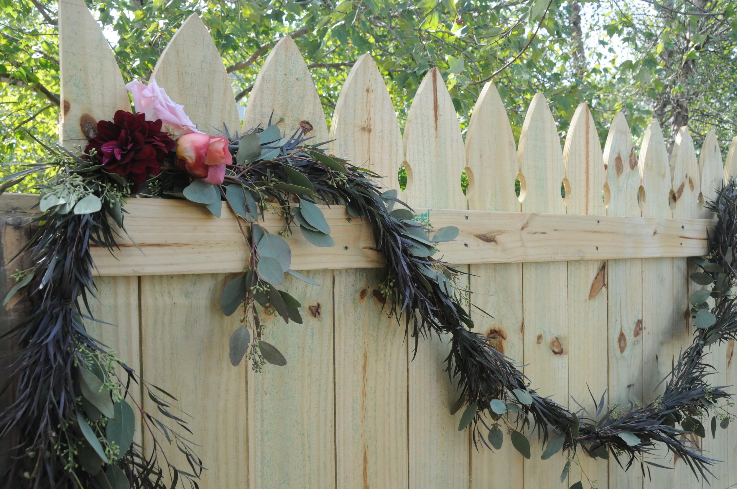 Autumn Wedding Flower Detail