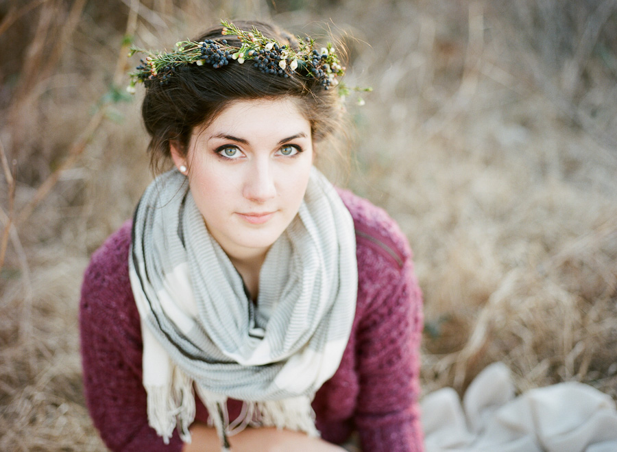 Wintry Flower Crown