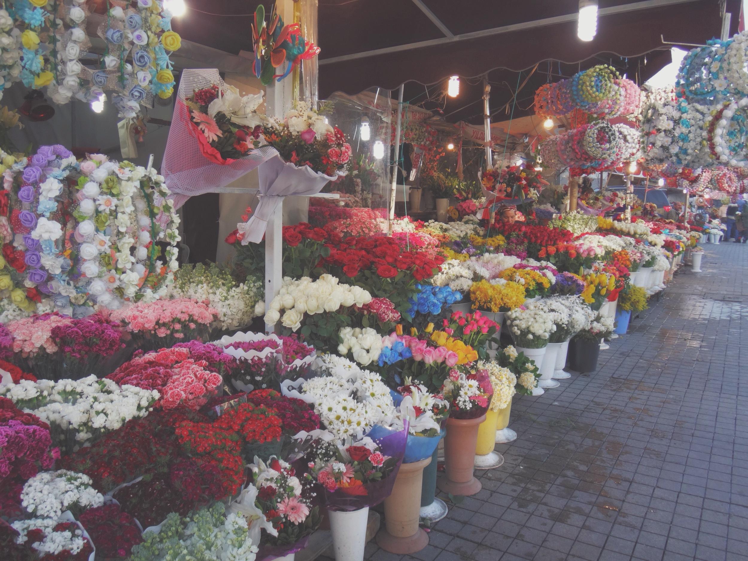 Flower Shop in Istanbul