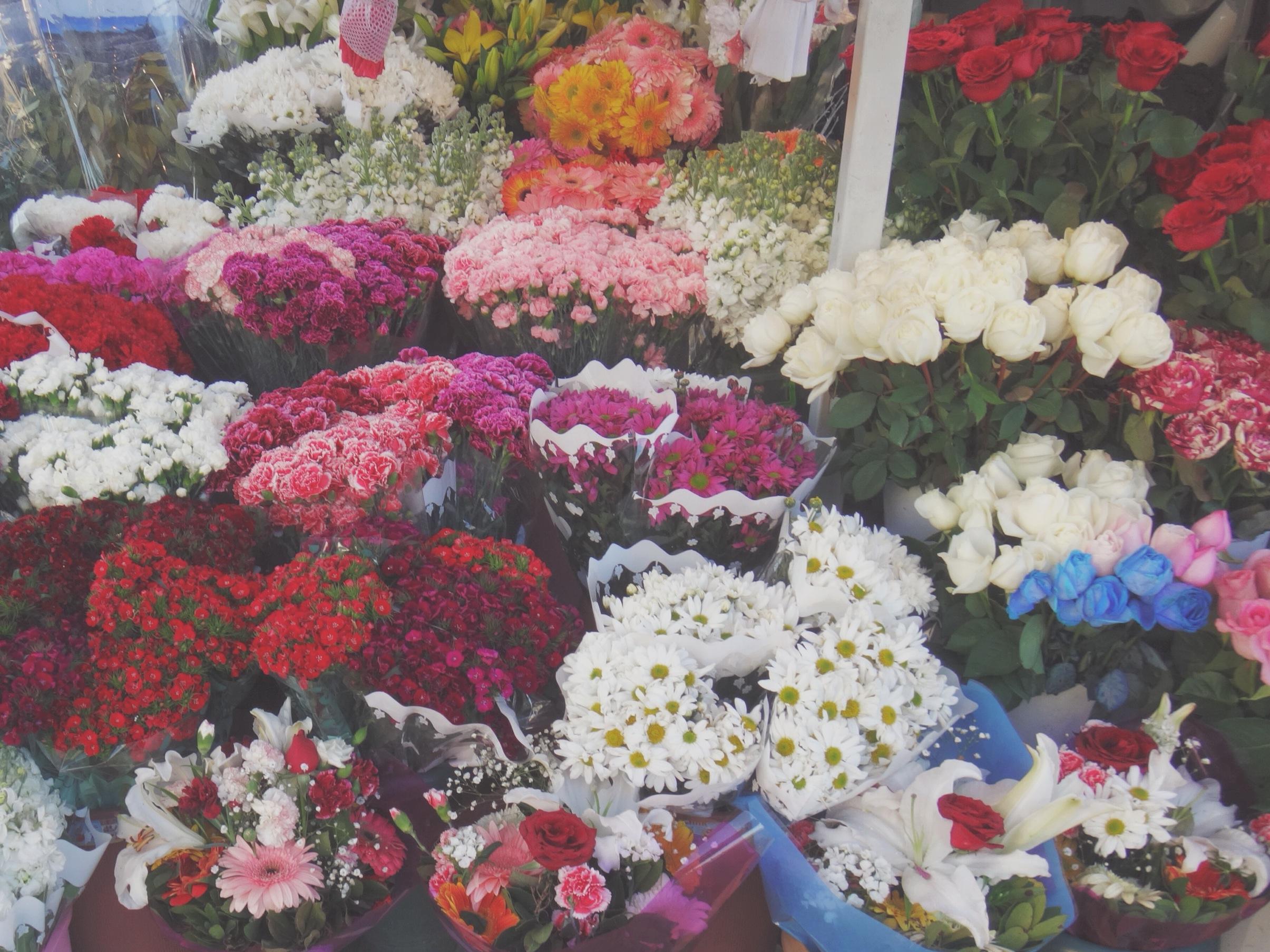 Flower Shop at Taksim Square, Istanbul