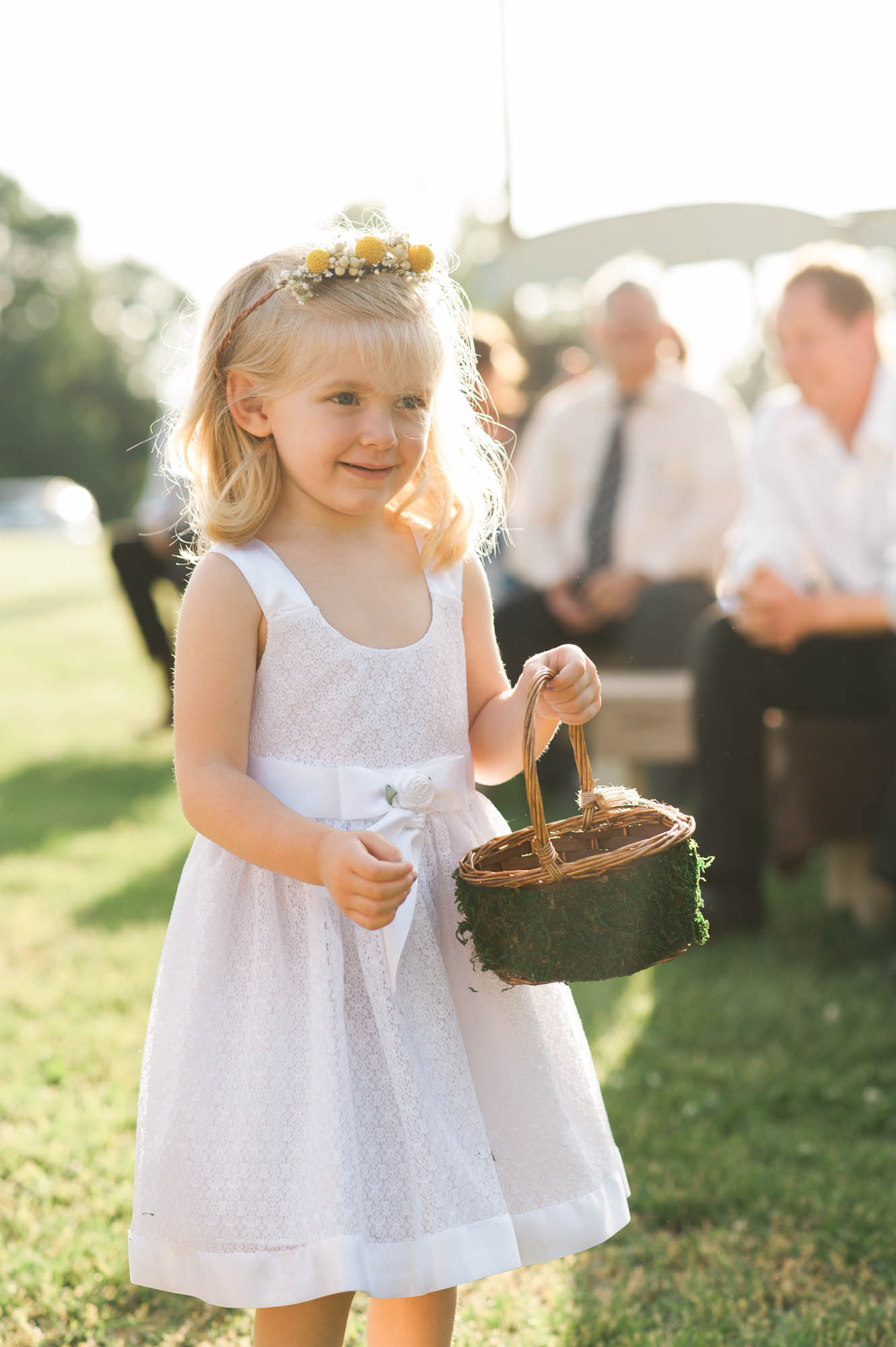 Country Wedding // Flower Girl
