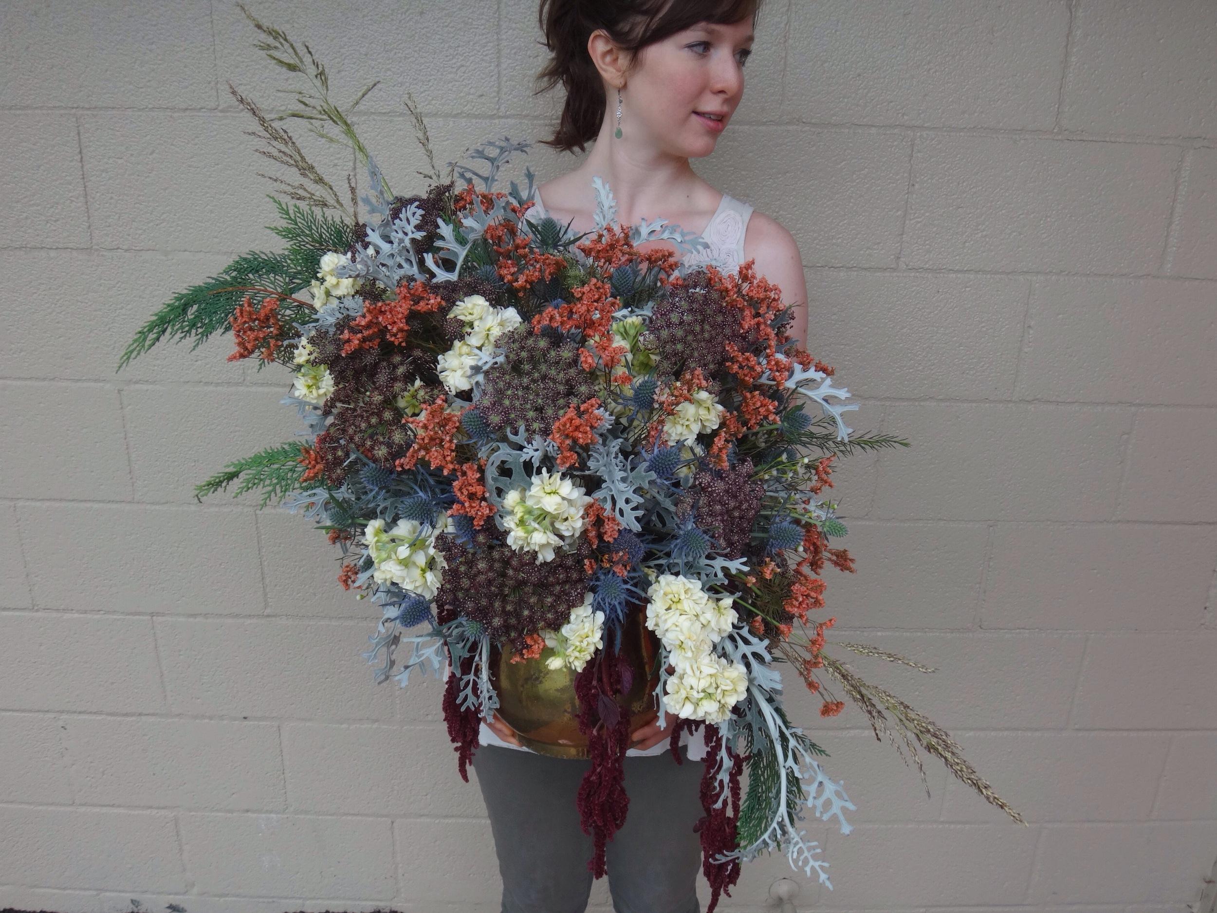 Bohemian Flower Arrangement