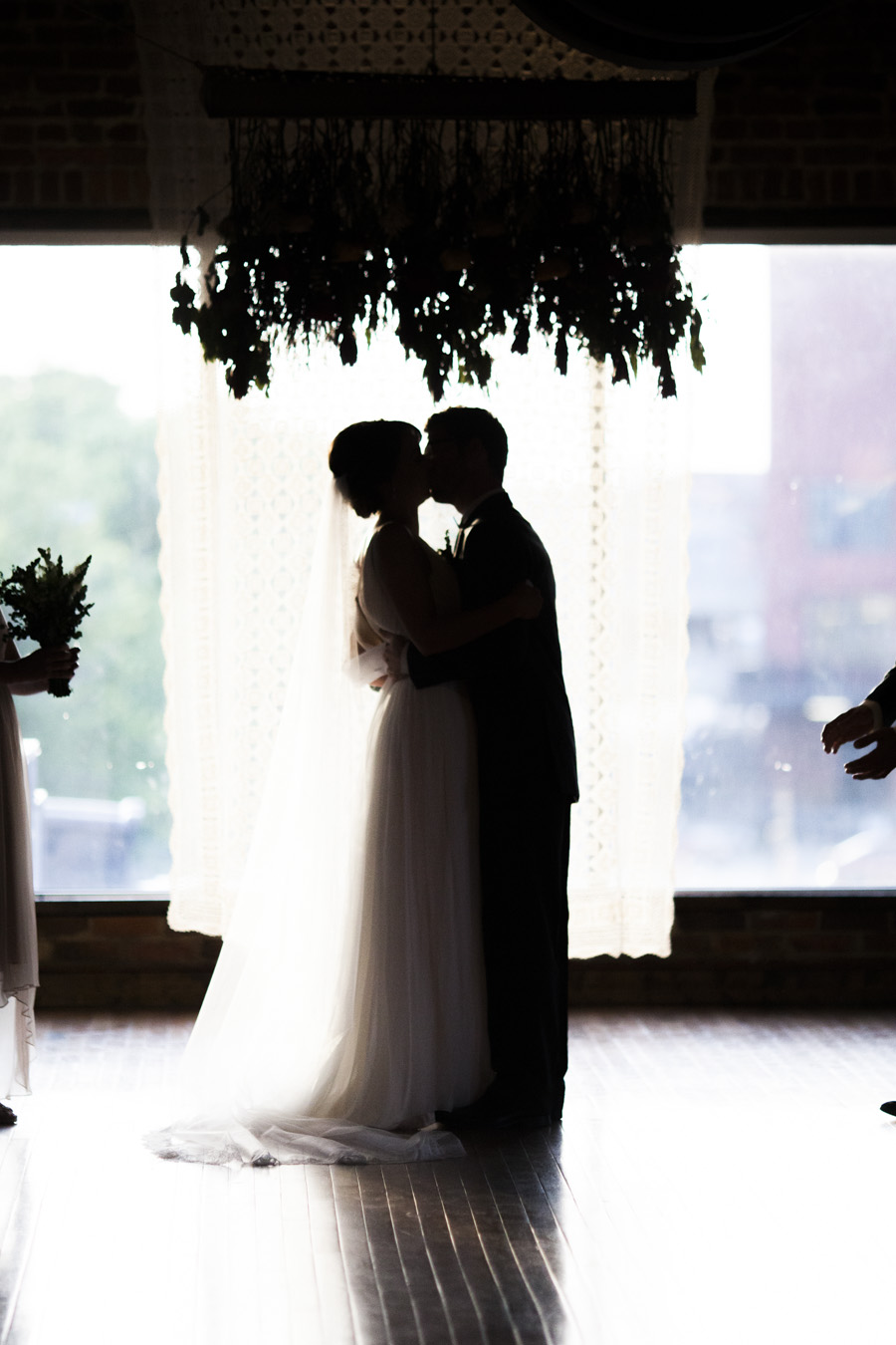 First Kiss Silhouette