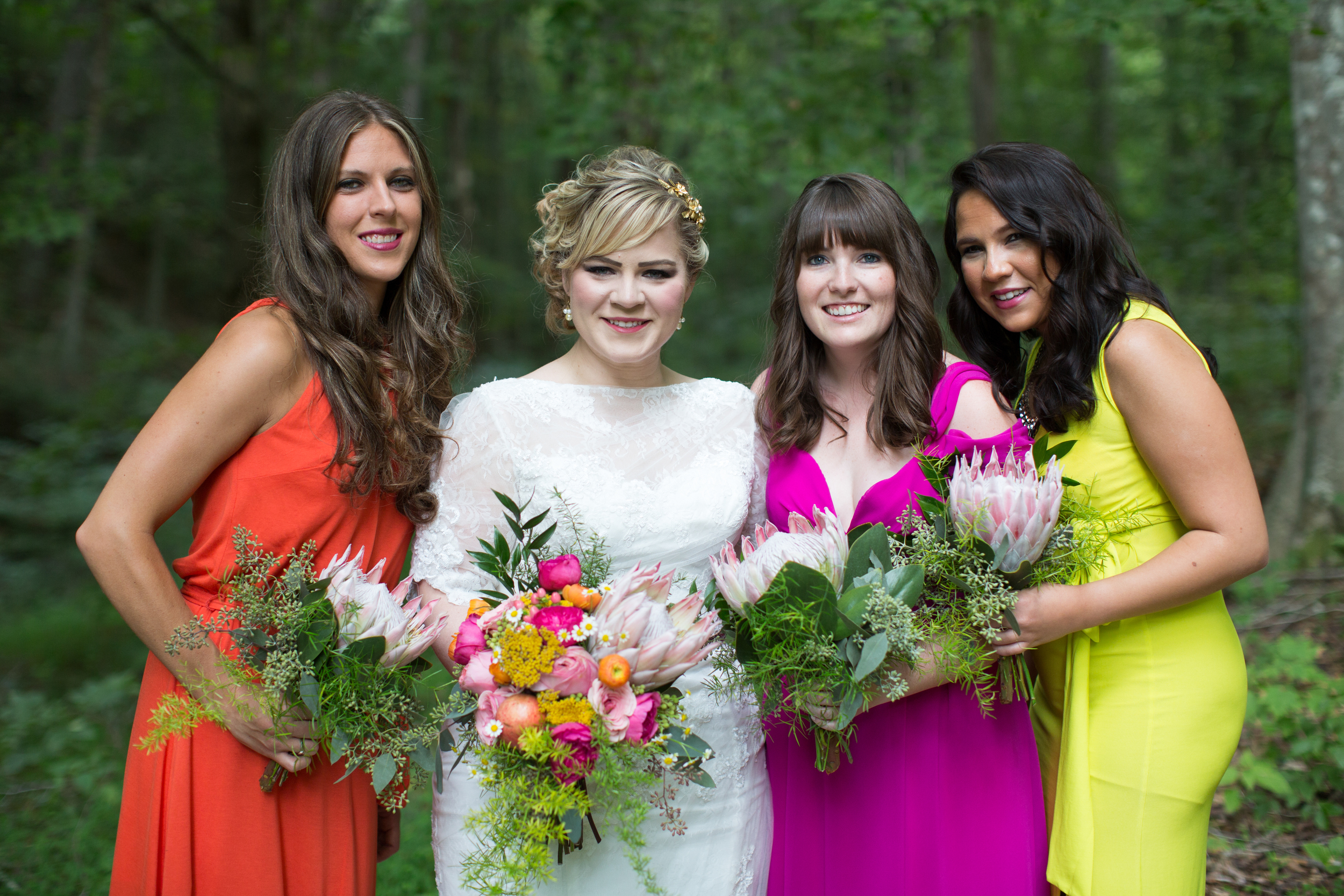 Nashville Bride and Bridesmaids Bouquets