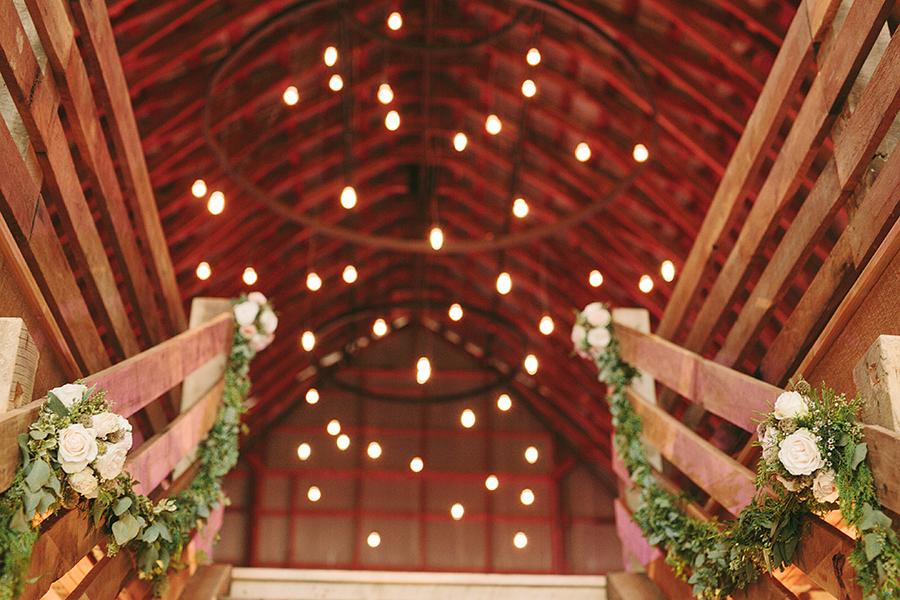 Floral Garland // Nashville Vineyard Wedding