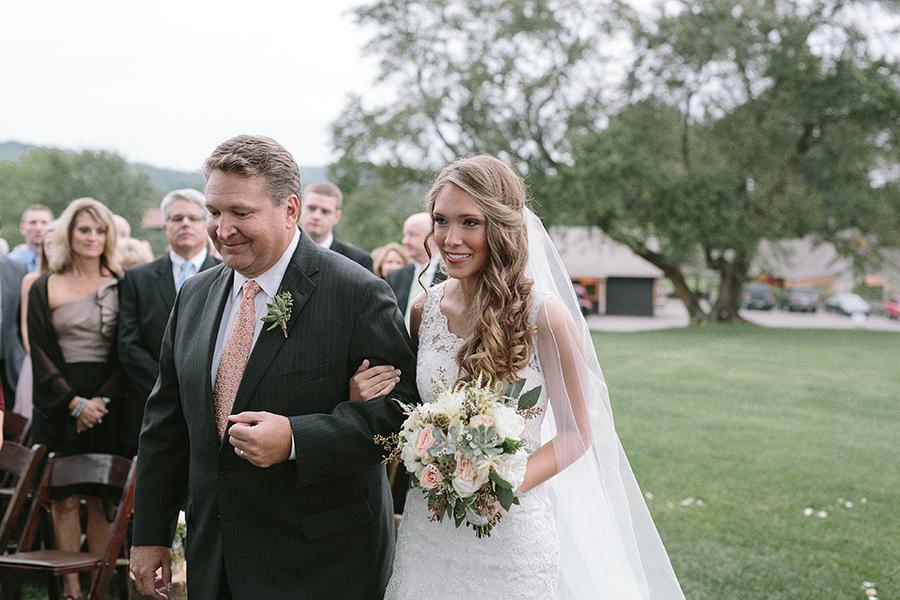 Nashville Arrington Vineyard Wedding Flowers