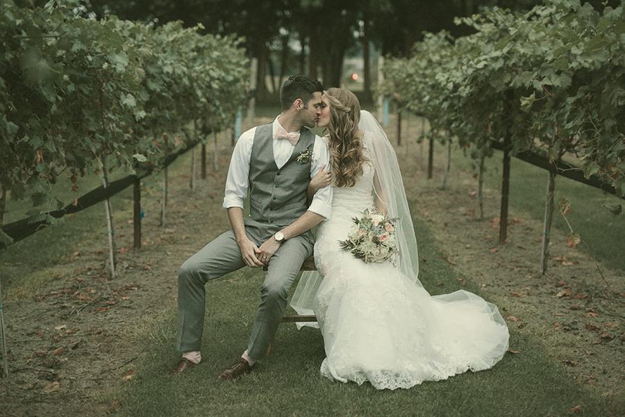 Romantic Vineyard Wedding // Lilac Farms // Nashville Flowers