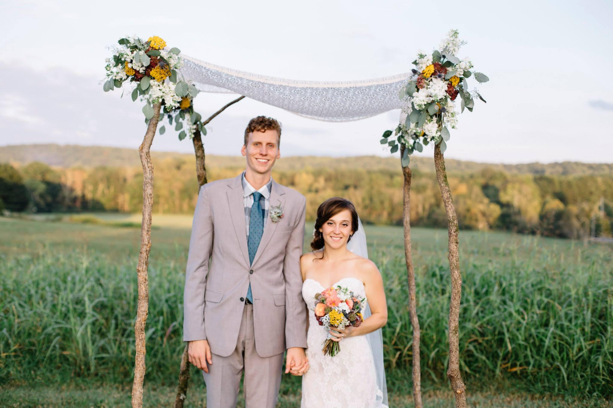 Chuppah // Chattanooga Wedding Flowers