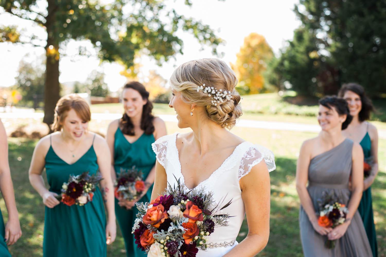 Fall Bouquets // Nashville Wedding Flowers