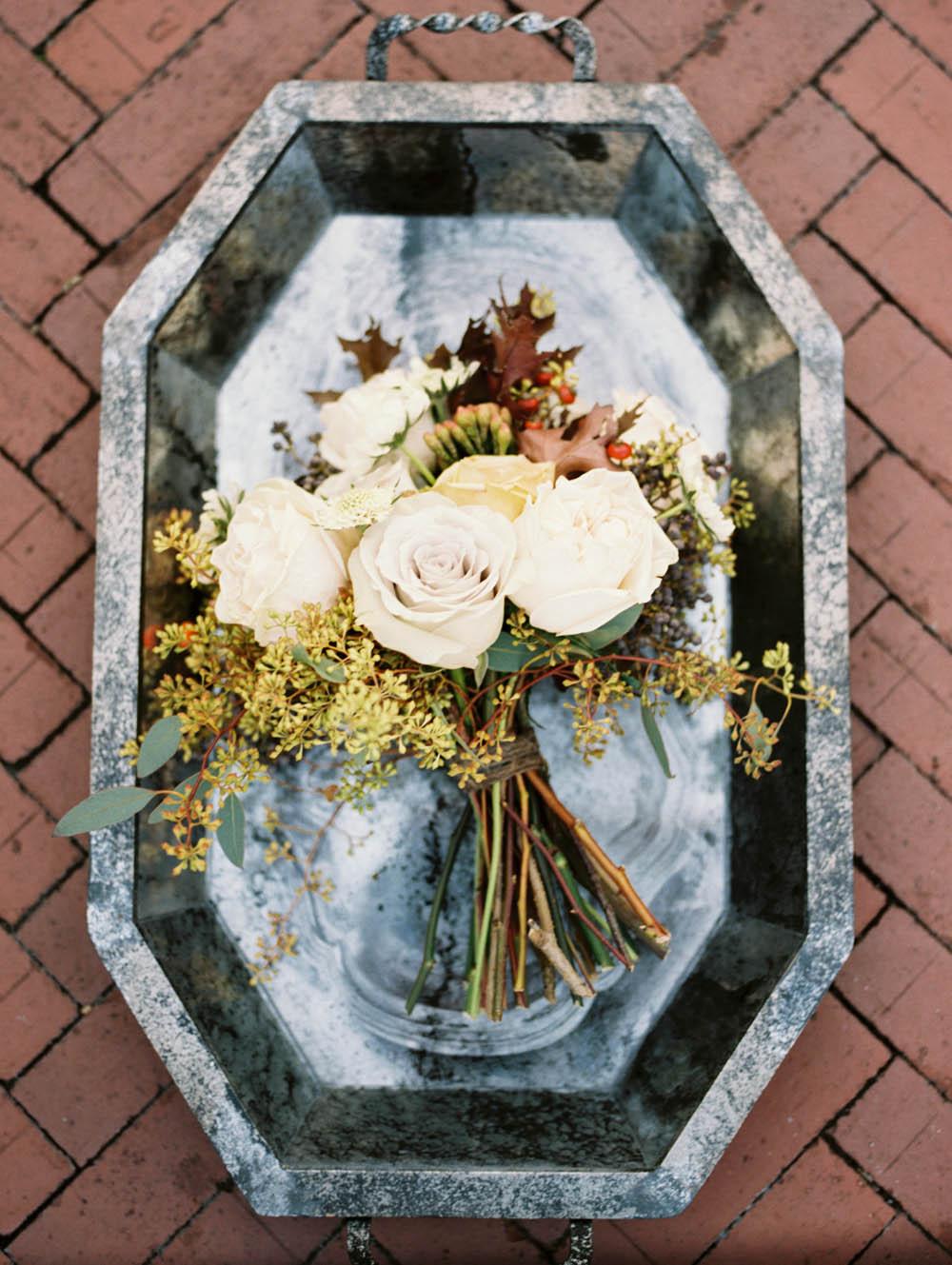 Whimsical garden bridal bouquet // Nashville Wedding Flowers