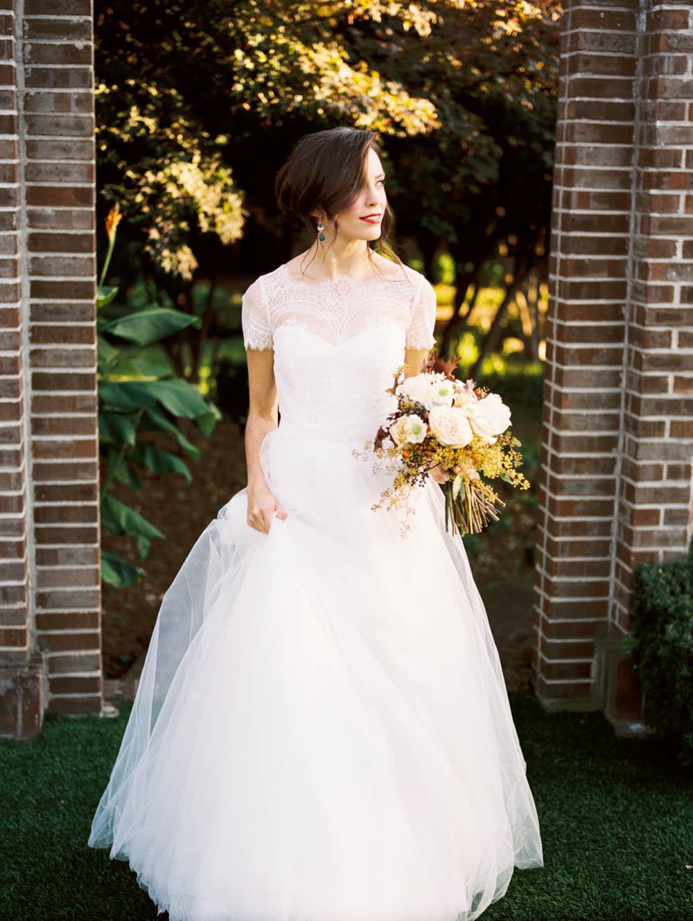 Secret Garden Bride Inspiration // Nashville Wedding Flowers