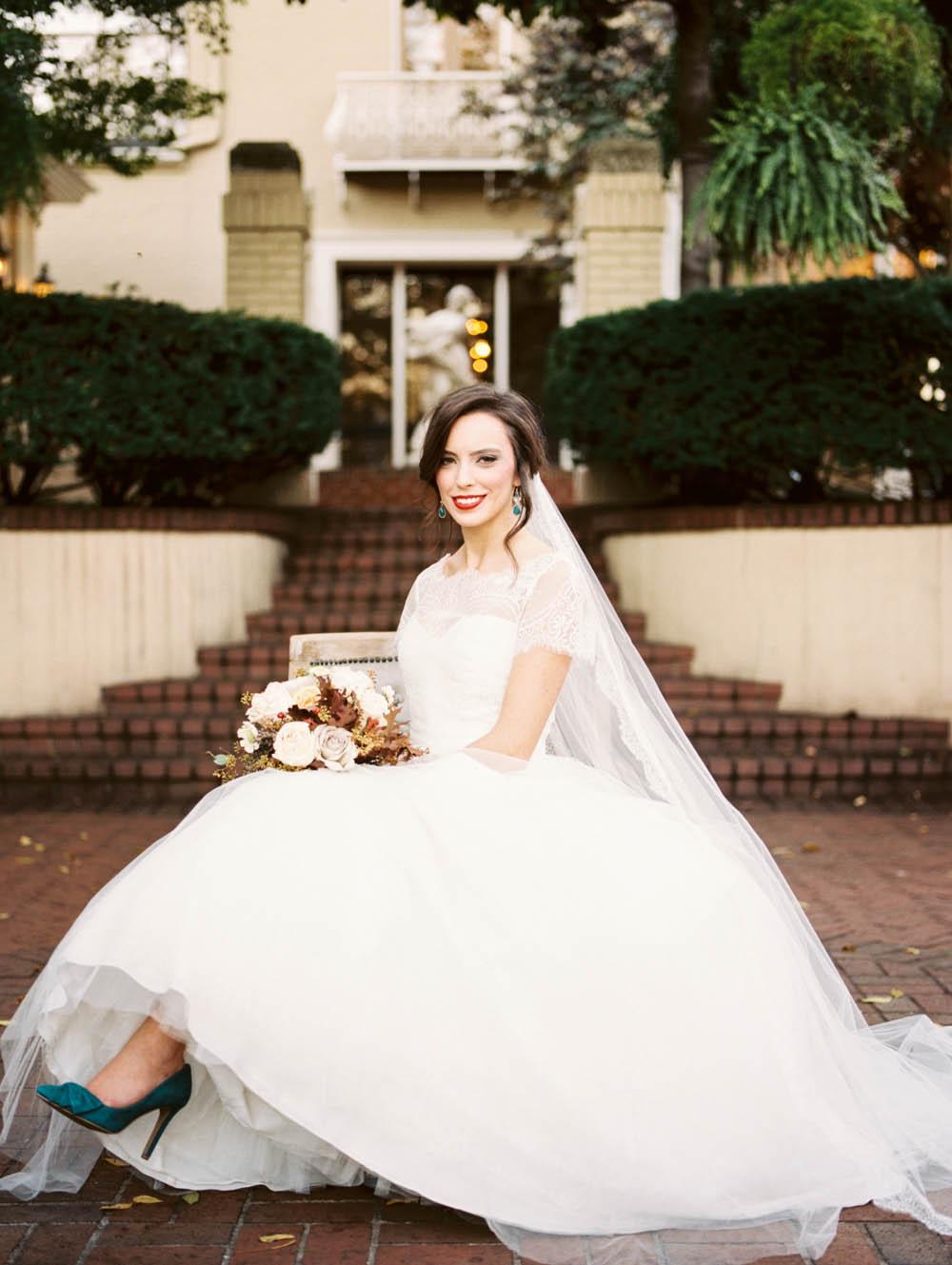 East Ivy Mansion // Nashville Wedding Flowers
