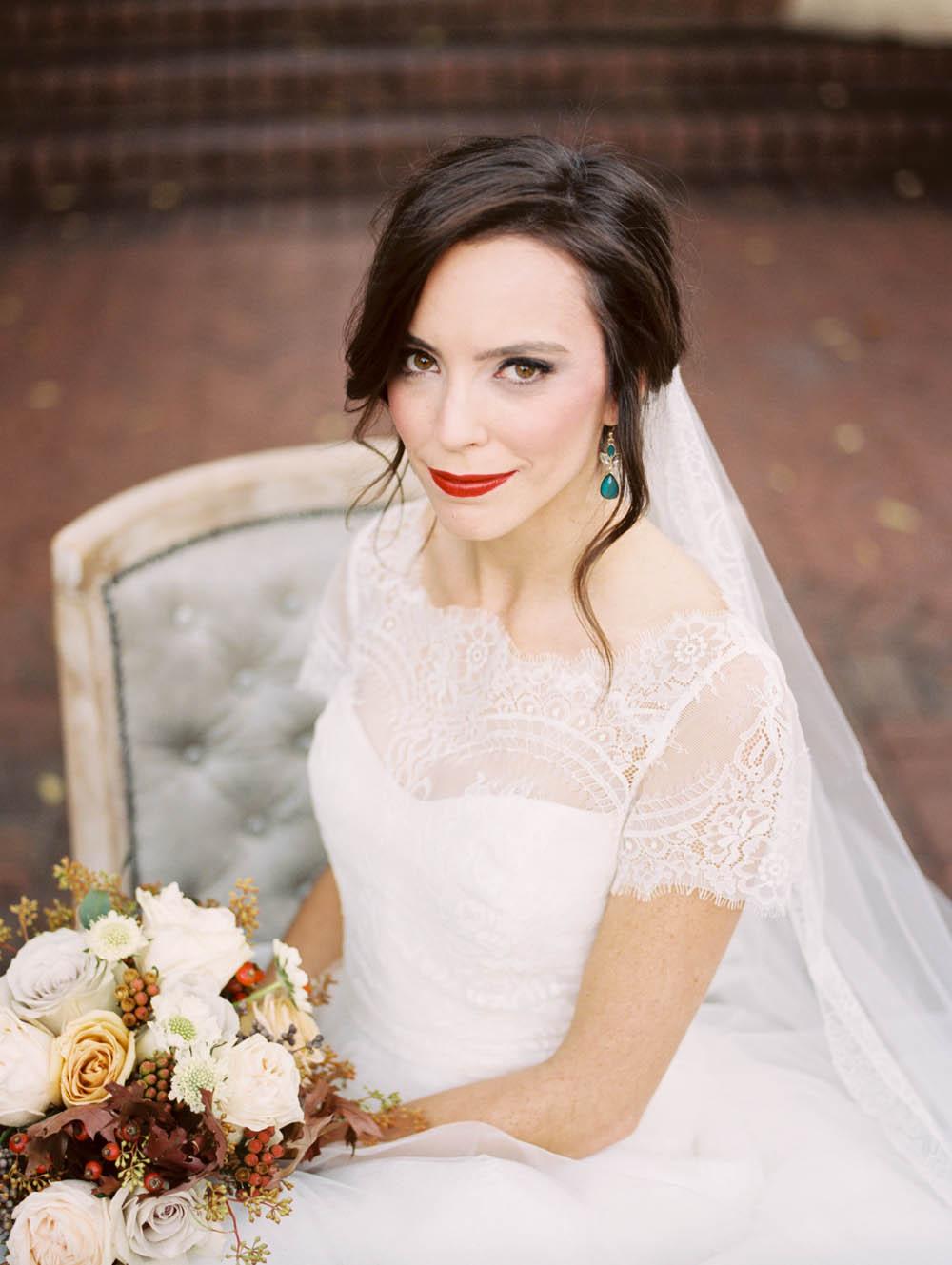 Cranberry and Deep Teal Wedding Inspiration