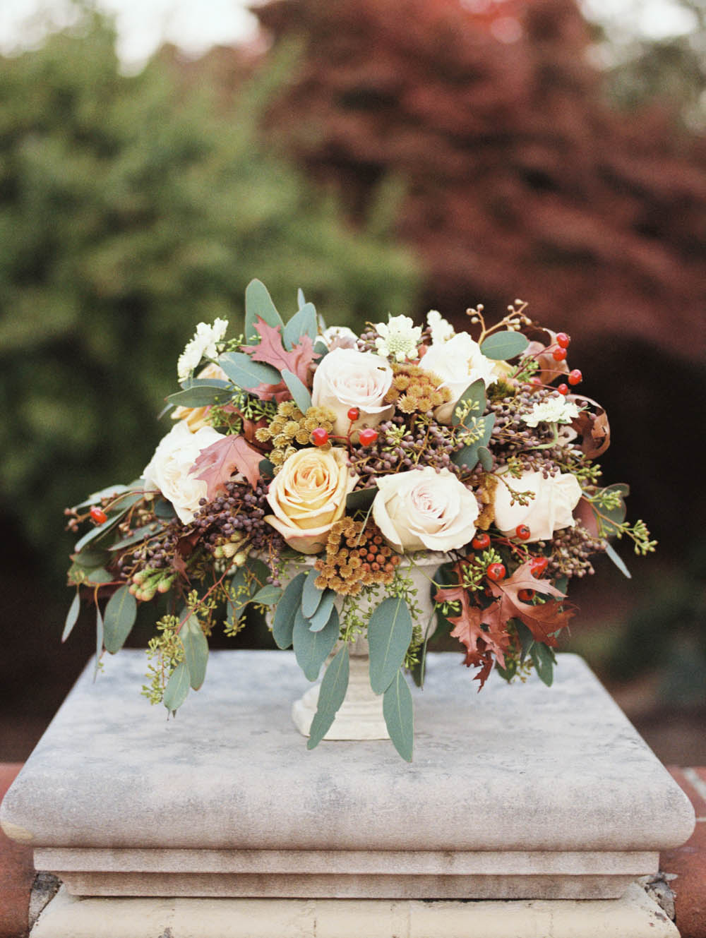 Natural, garden, organic floral arrangement