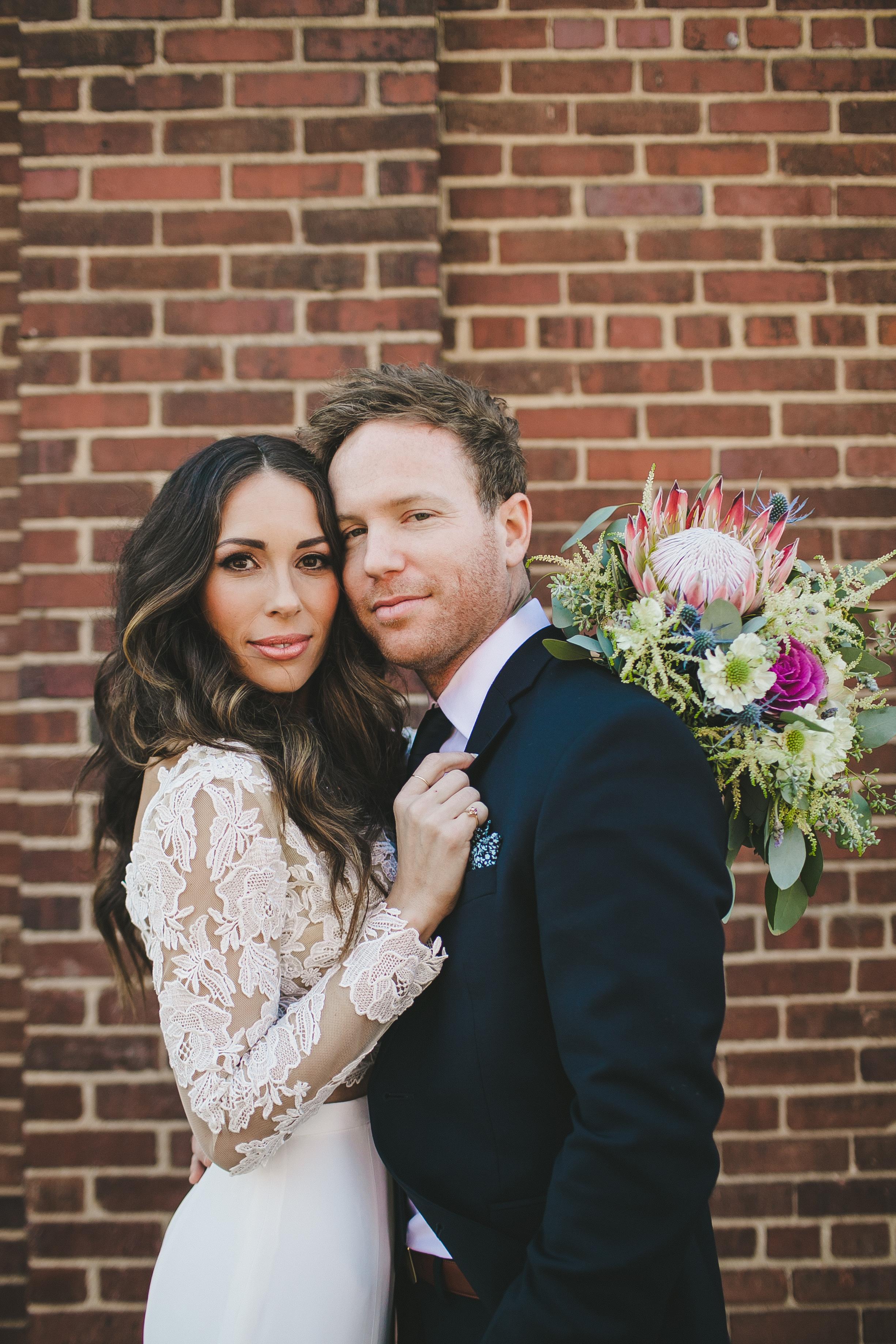 Fashion Oriented Wedding // Nashville Florist