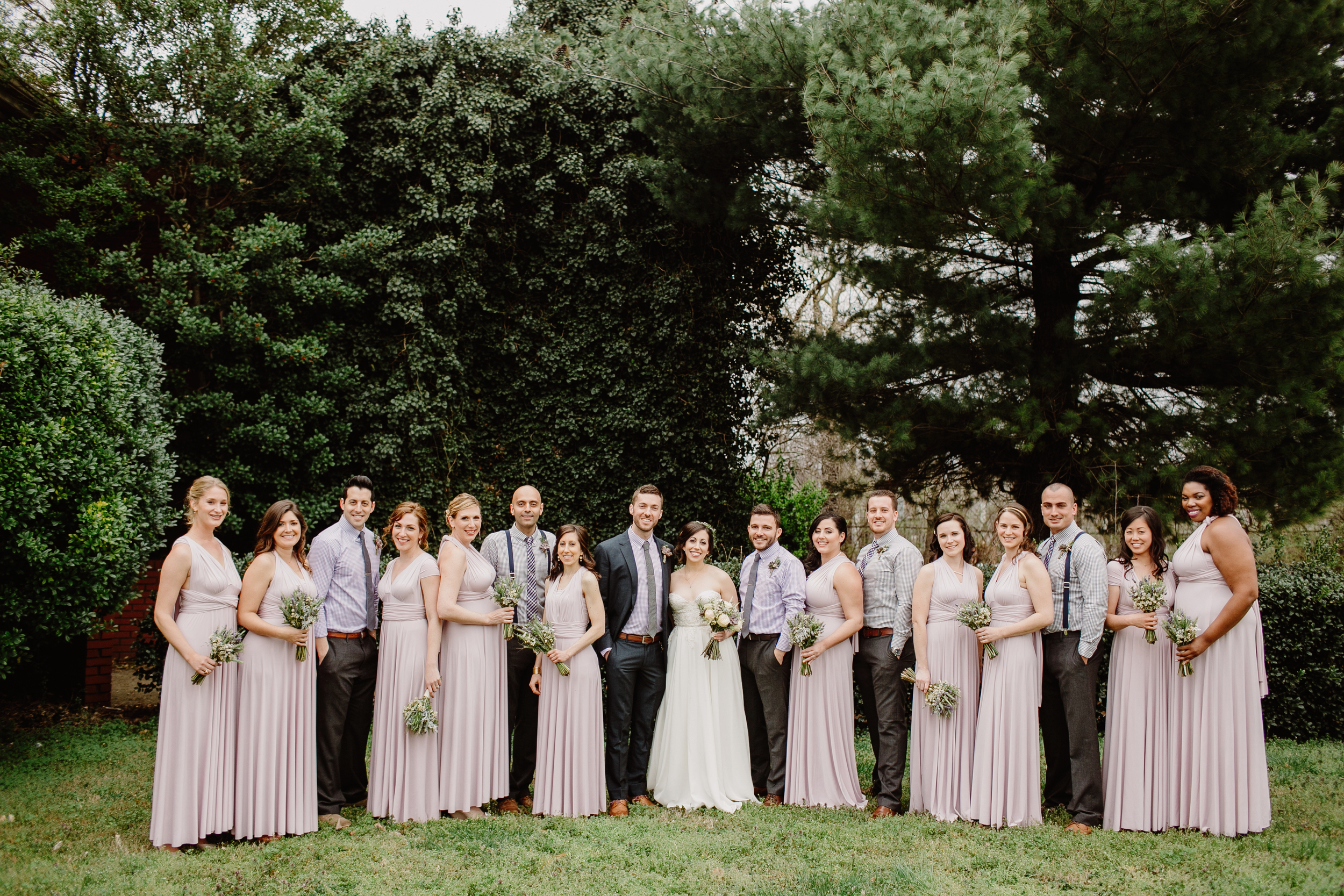 Nashville Wedding Party at the Cordelle