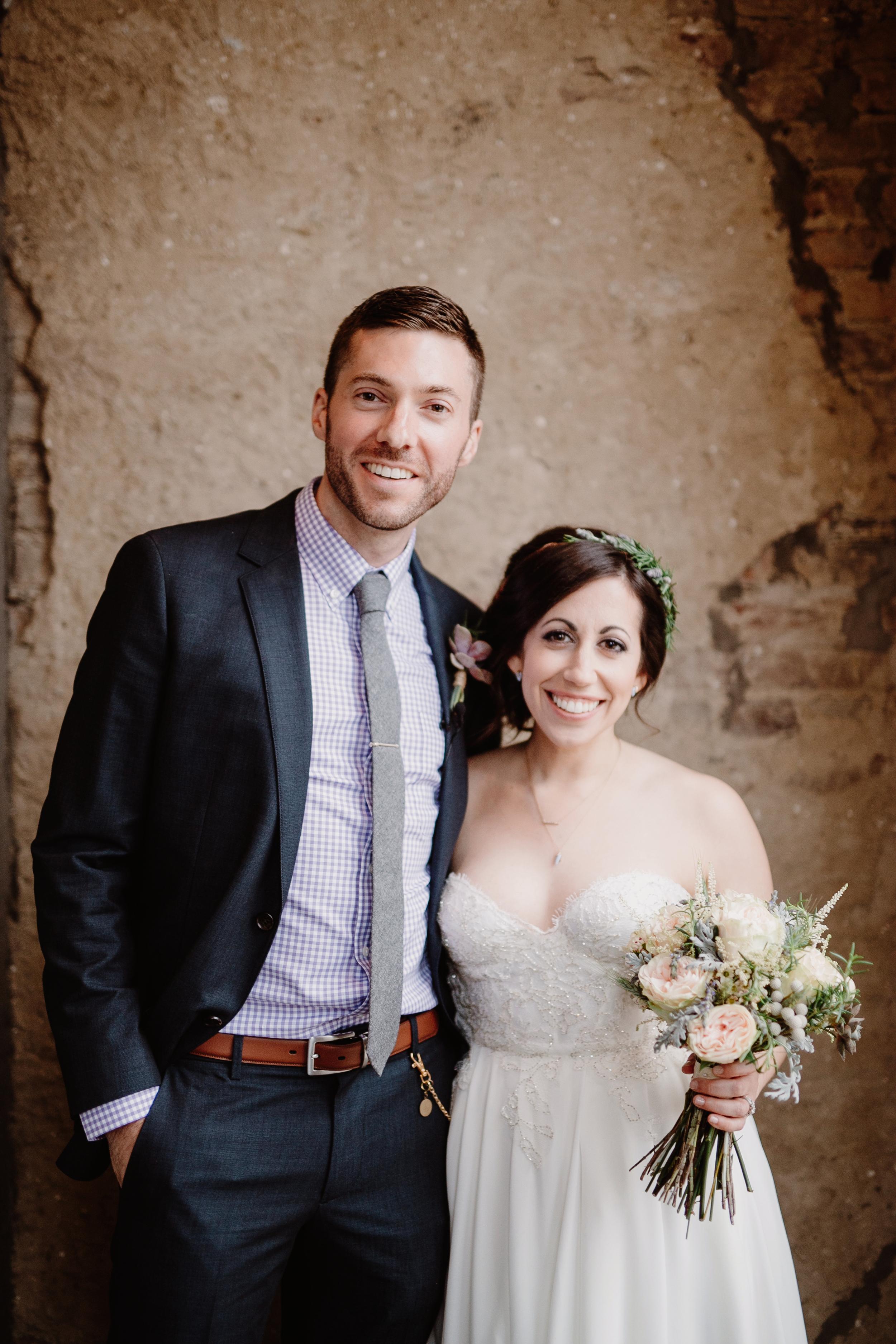 Nashville Bride and Groom // Wedding Floral Design
