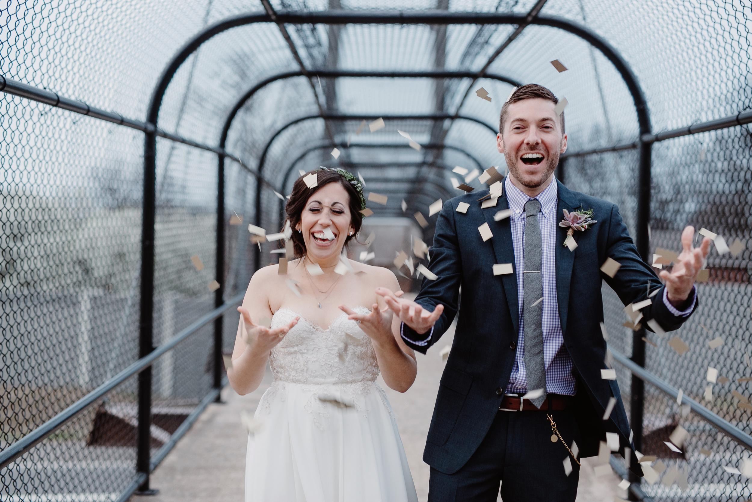 The happiest couple // Nashville Wedding Flowers