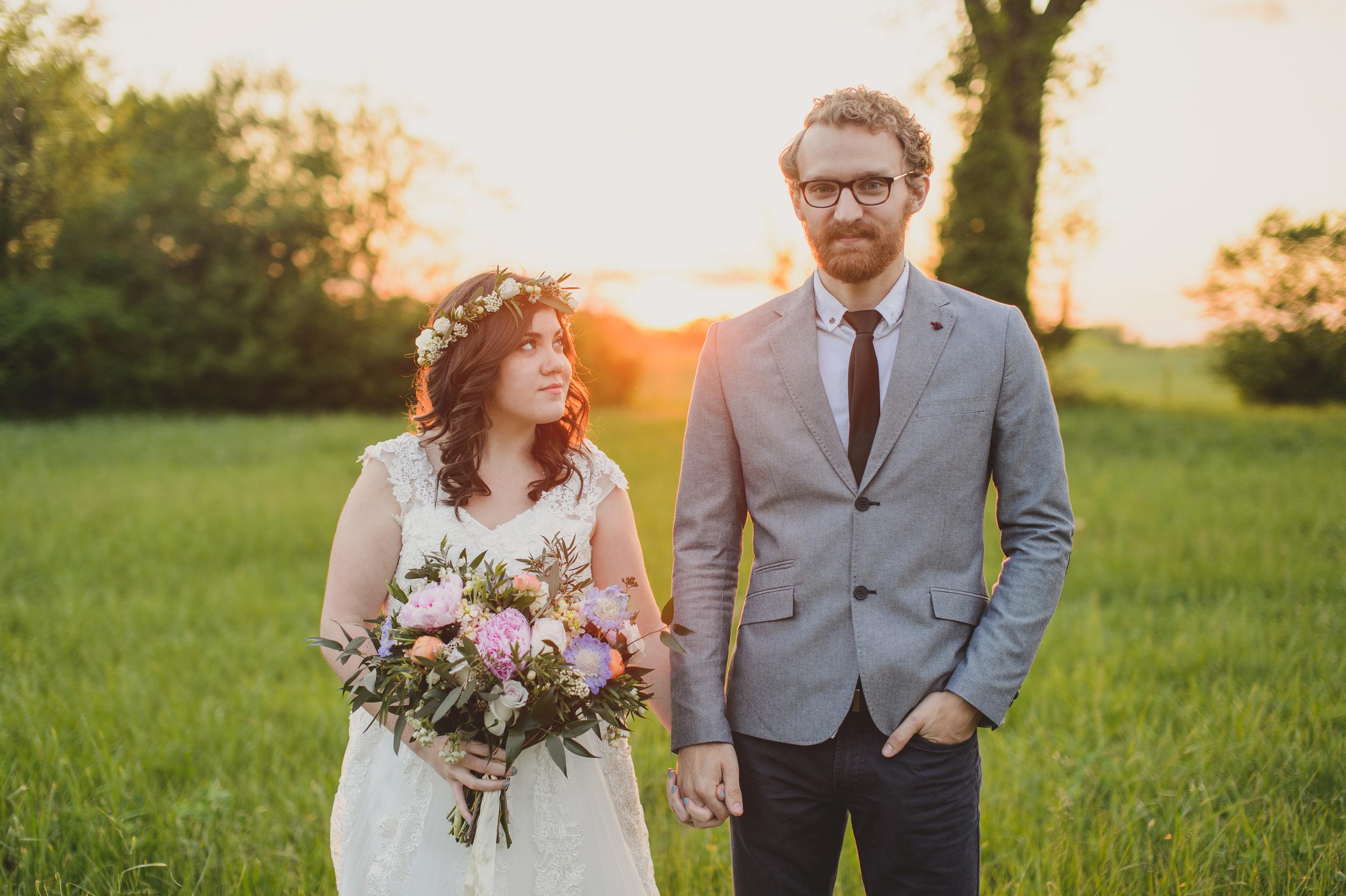 Newlywed Portrait Session // Nashville Wedding Florist