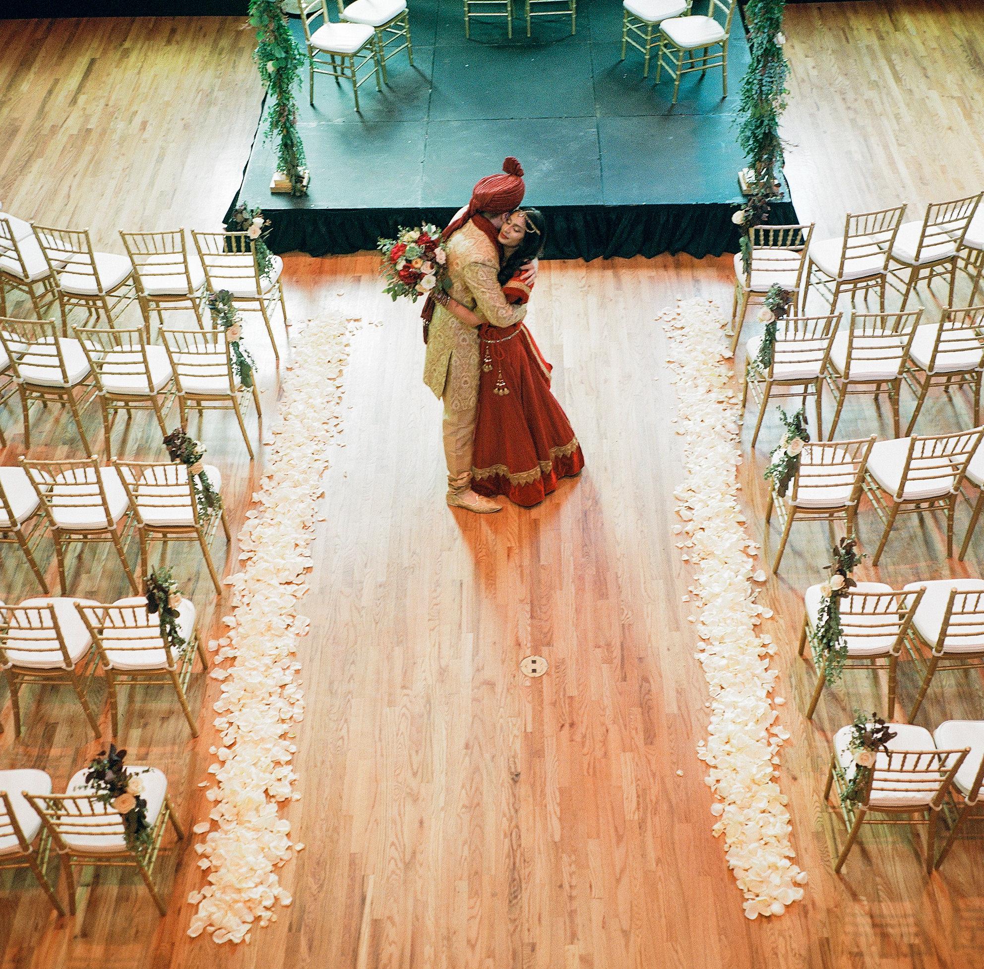 Rose Petal Aisle // Nashville Wedding Floral Design