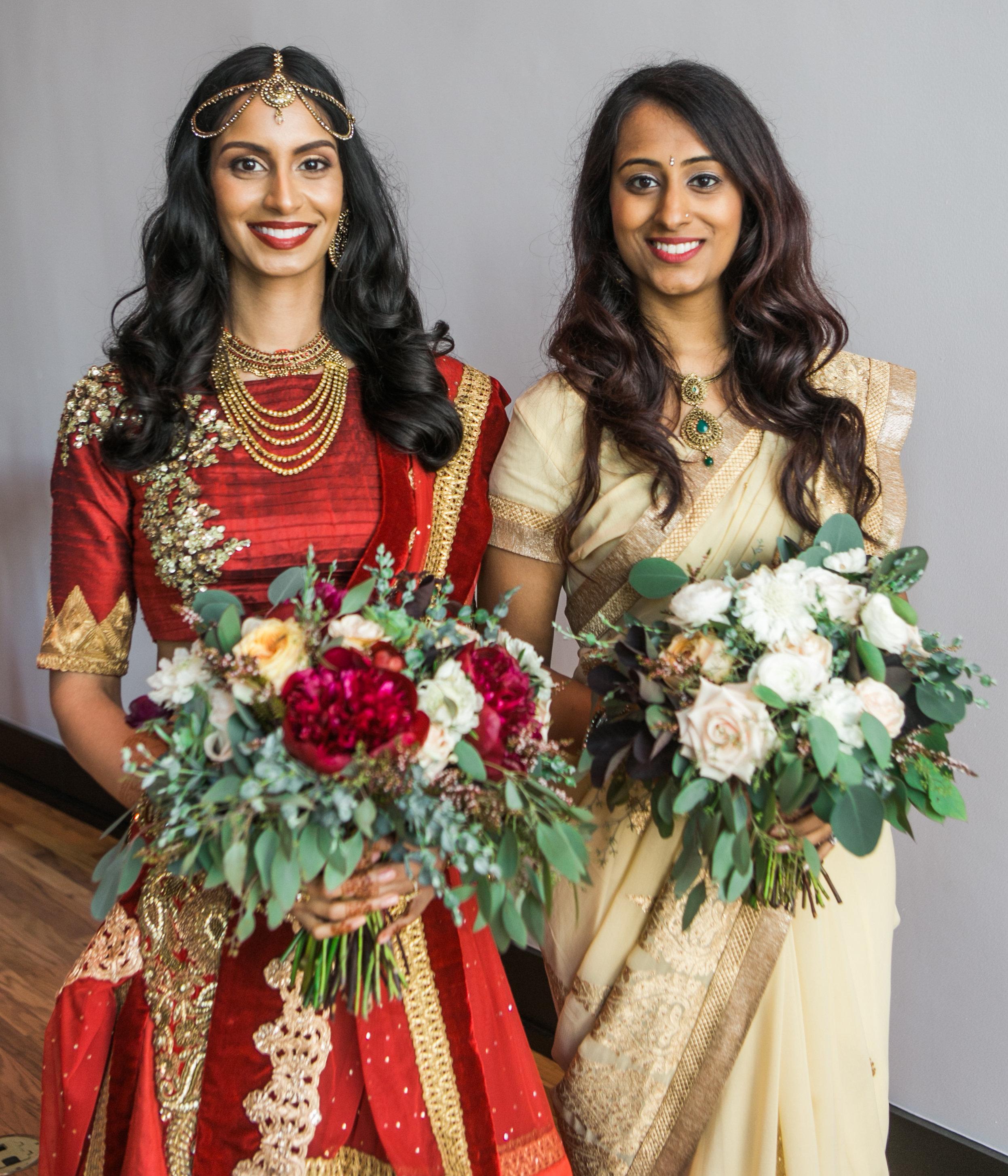 Peony and greenery bridal bouquet // Nashville Wedding Florist
