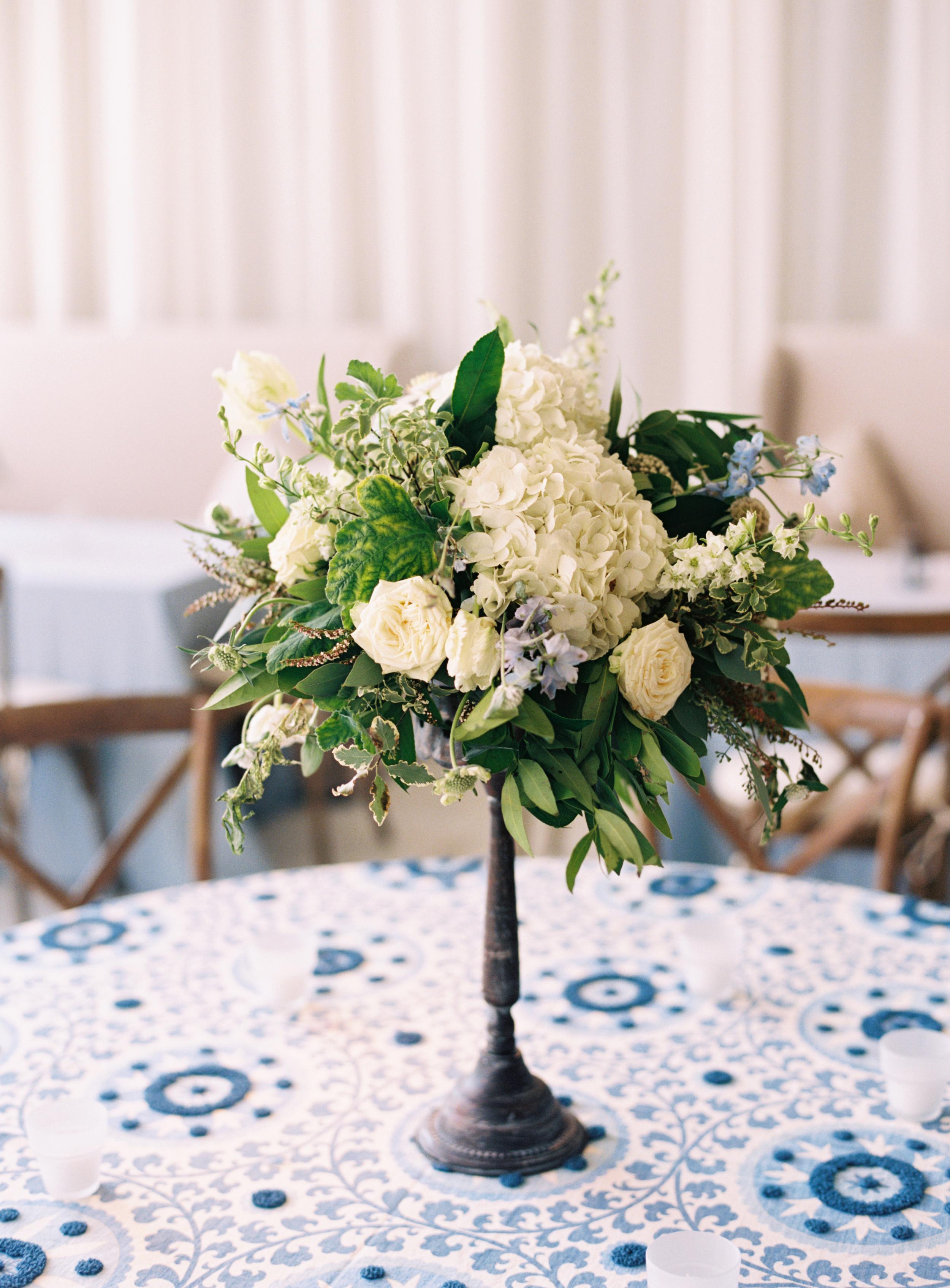 Elevated Floral Arrangement // Nashville Wedding Florist