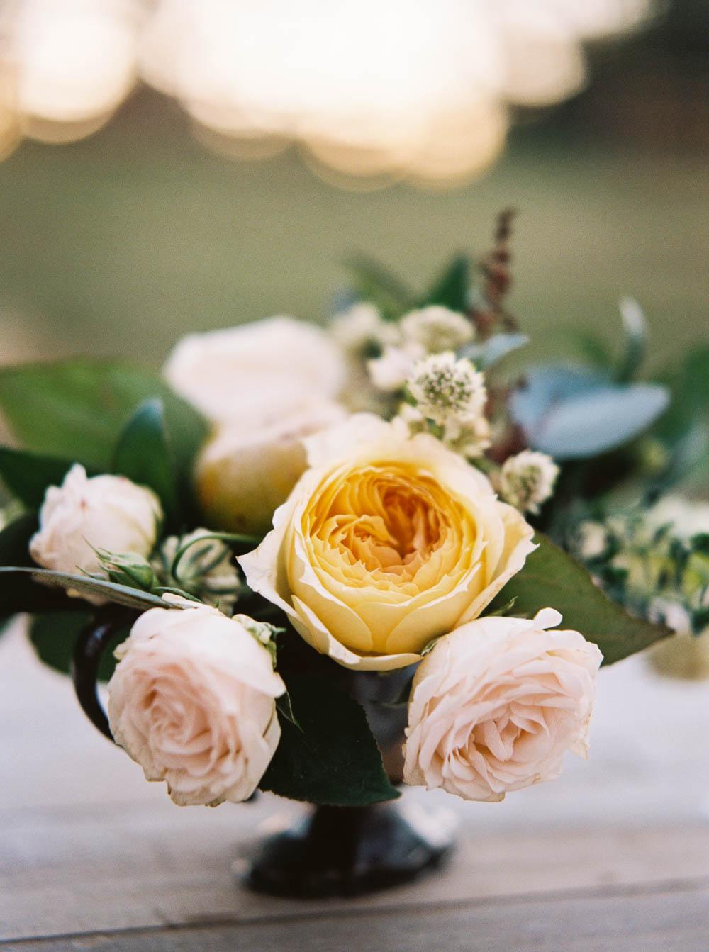Caramel Antique Garden Rose // Natural Floral Design