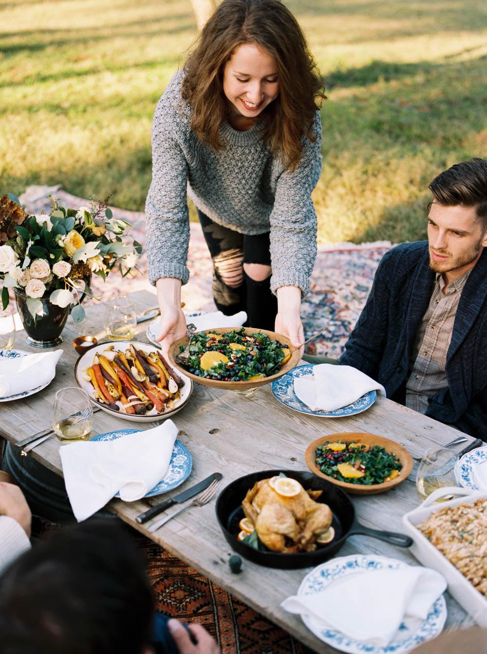 Farm Thanksgiving Inspiration Shoot // Nashville Floral Design