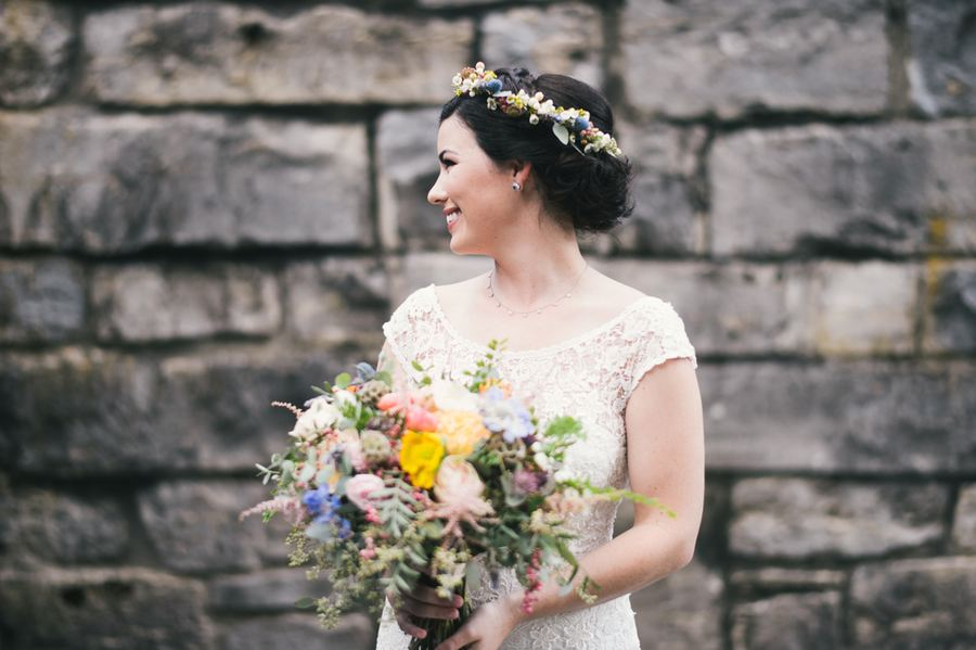 Wildflower bouquet for country wedding // Nashville Wedding Florist