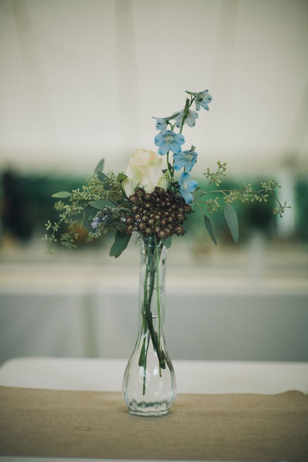 Wildflower bud vase // Nashville Wedding Florist
