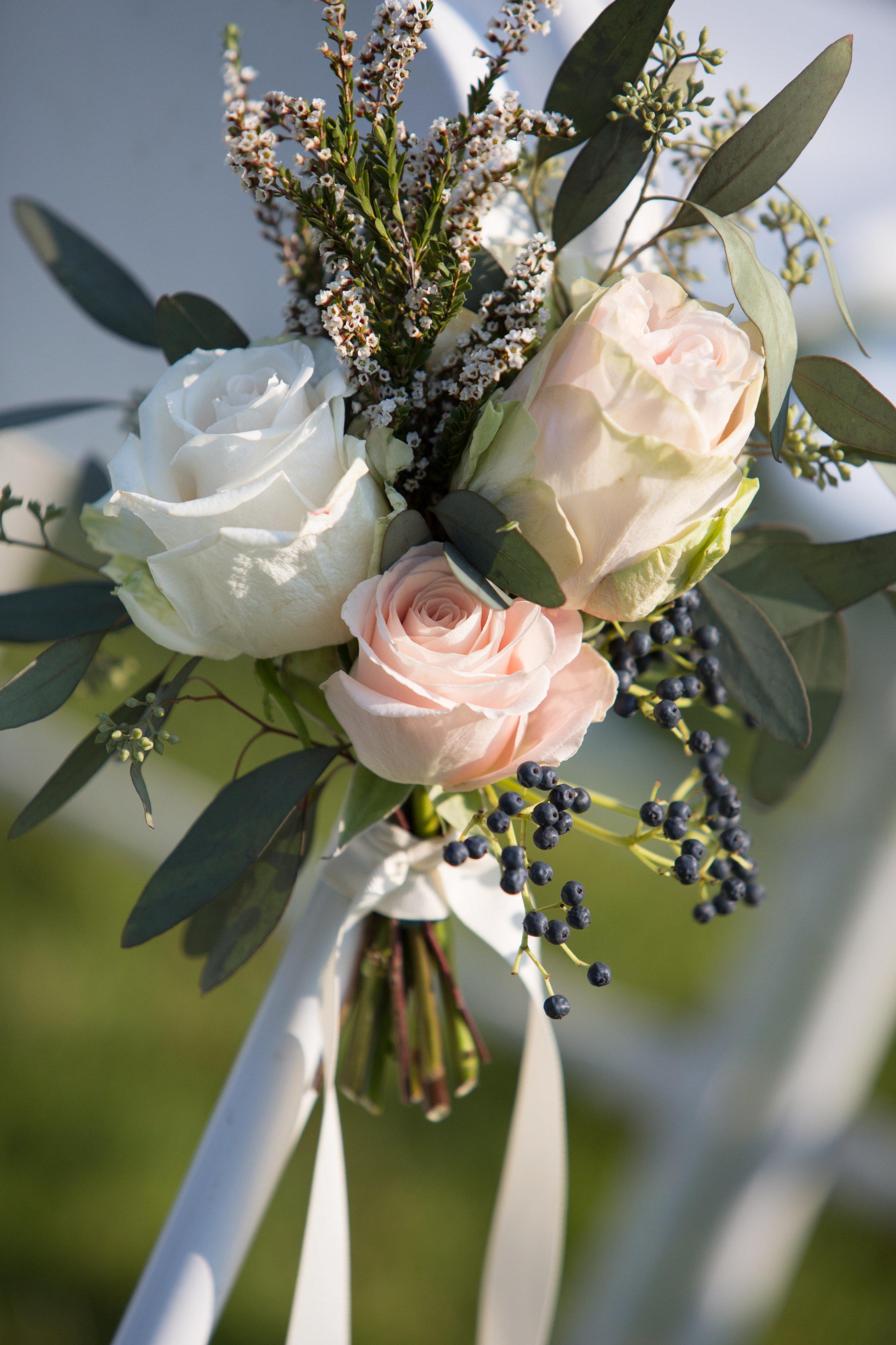 Aisle Markers // Nashville Florist