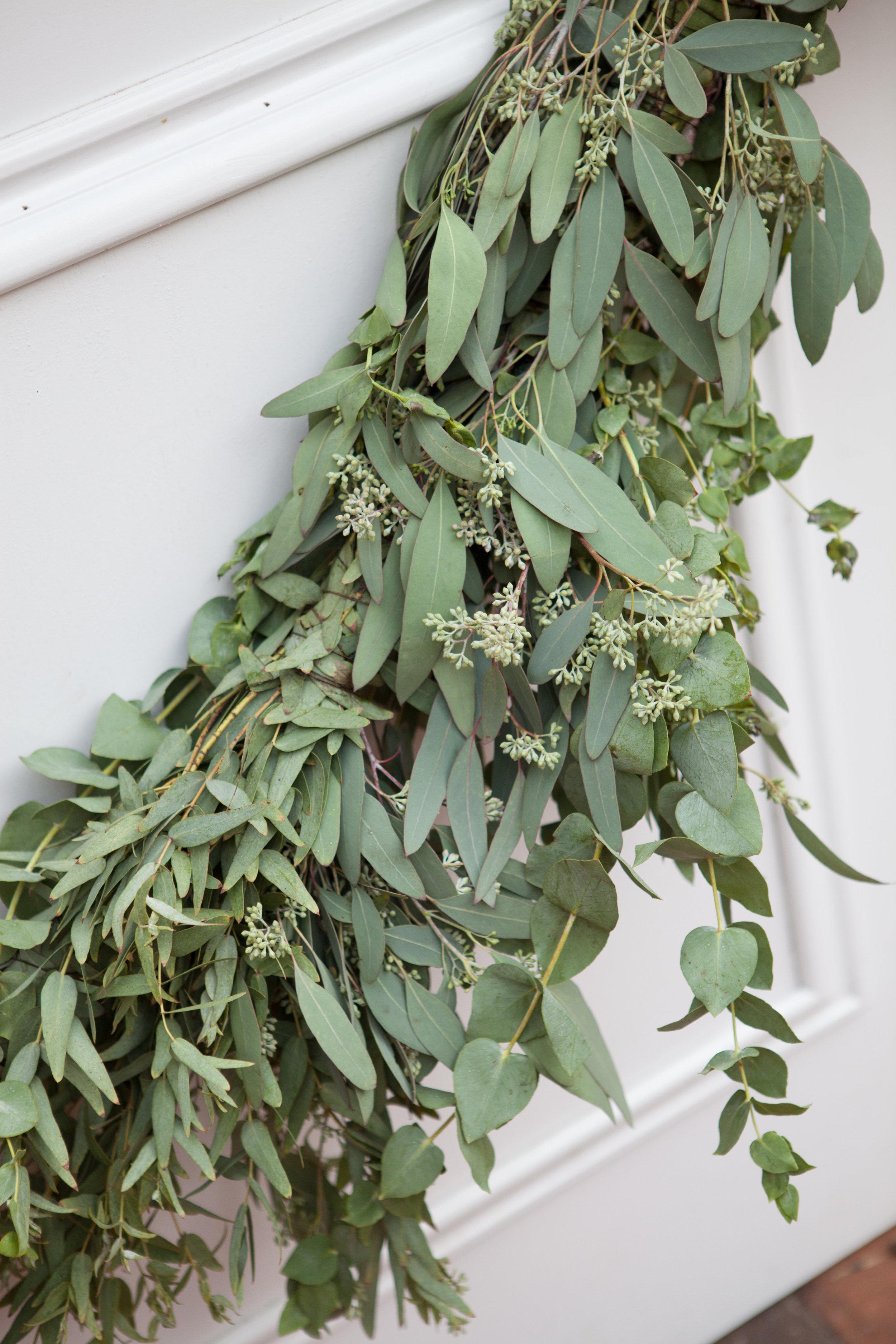 Eucalyptus Garland // Nashville Wedding Flowers