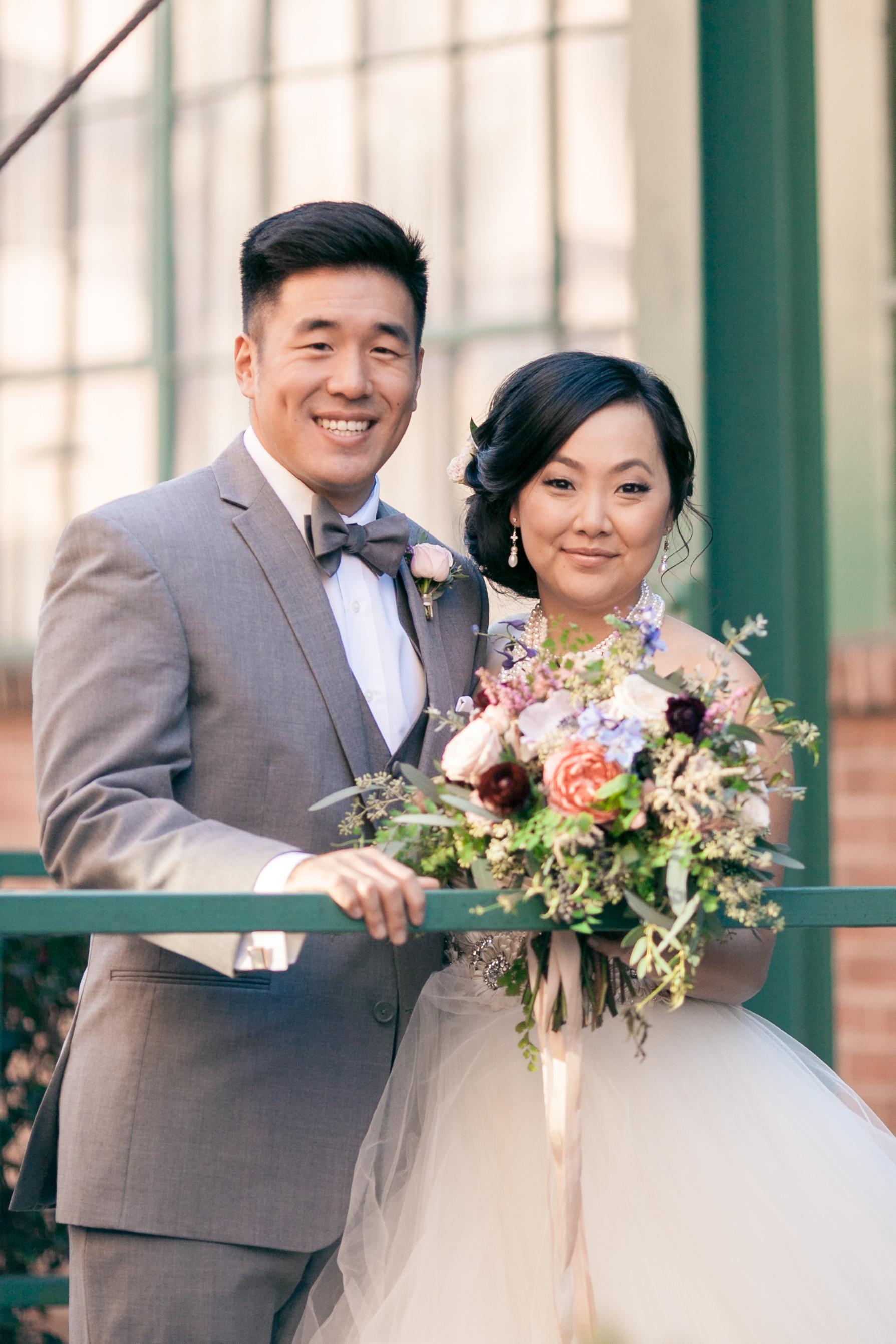 Industrial Bridal Portaits at King Plow Atlanta // Organic Floral Design