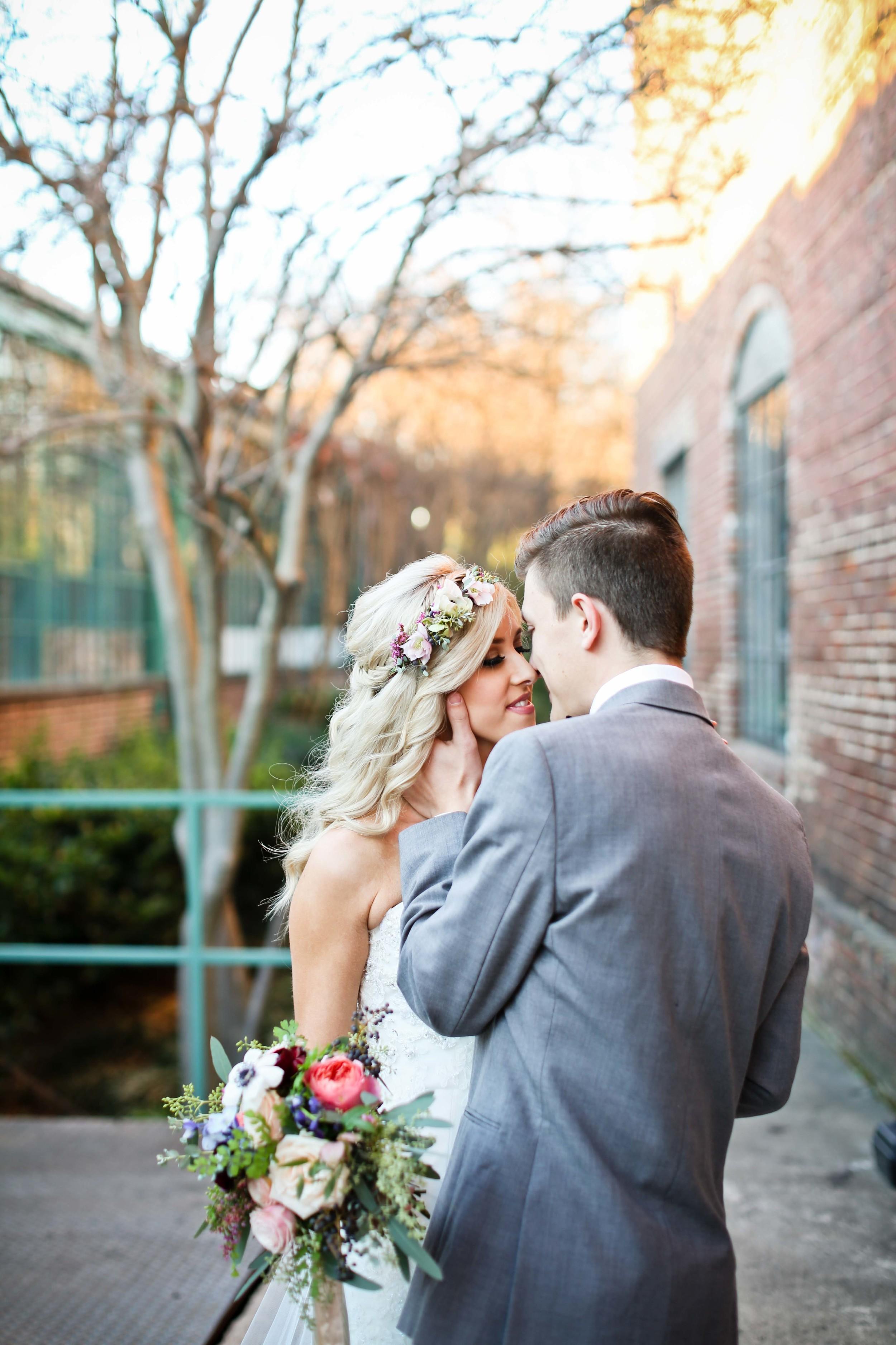 Romantic Elopement in Atlanta // Southeast Floral Design