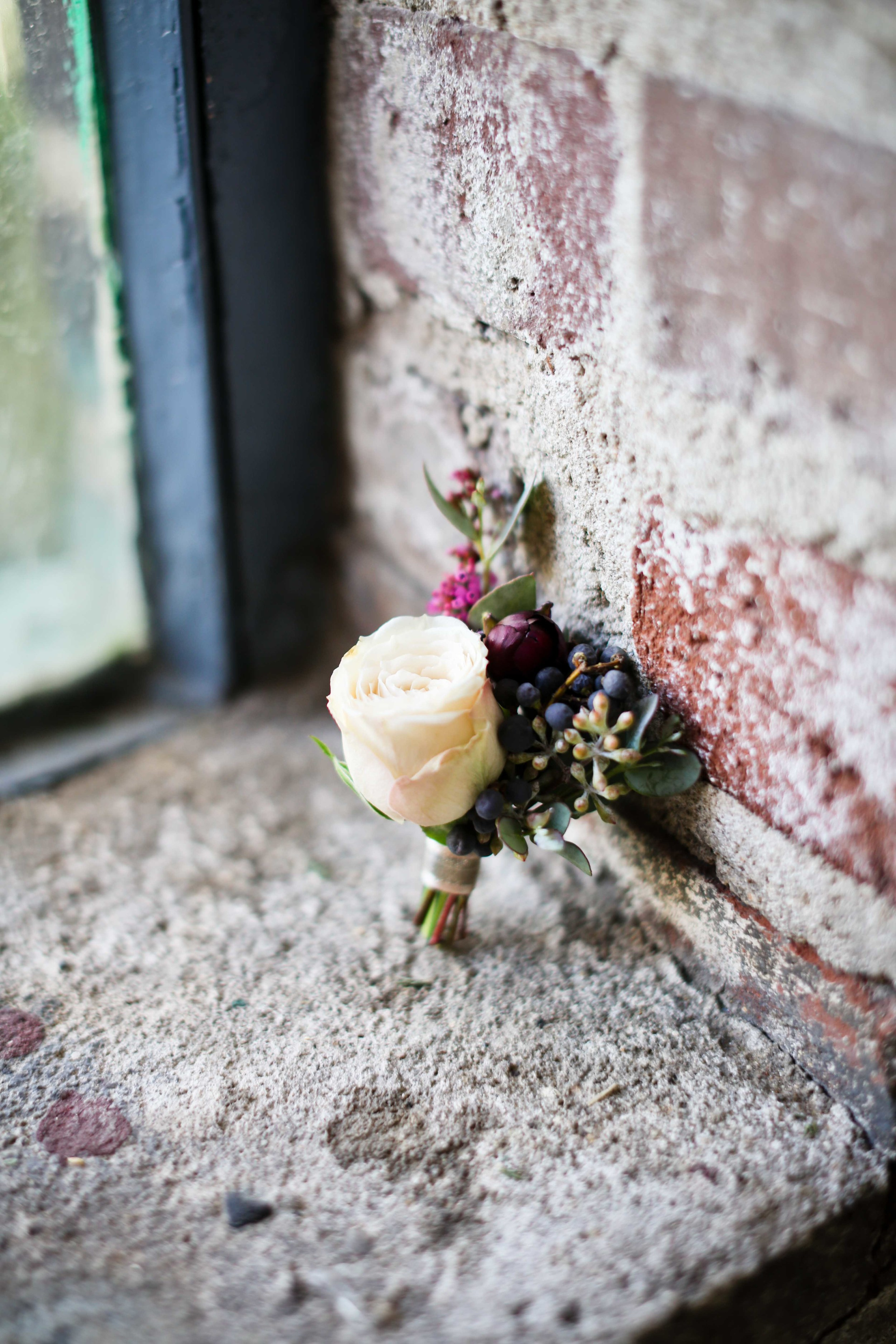 Stained Glass Inspiration Boutonniere